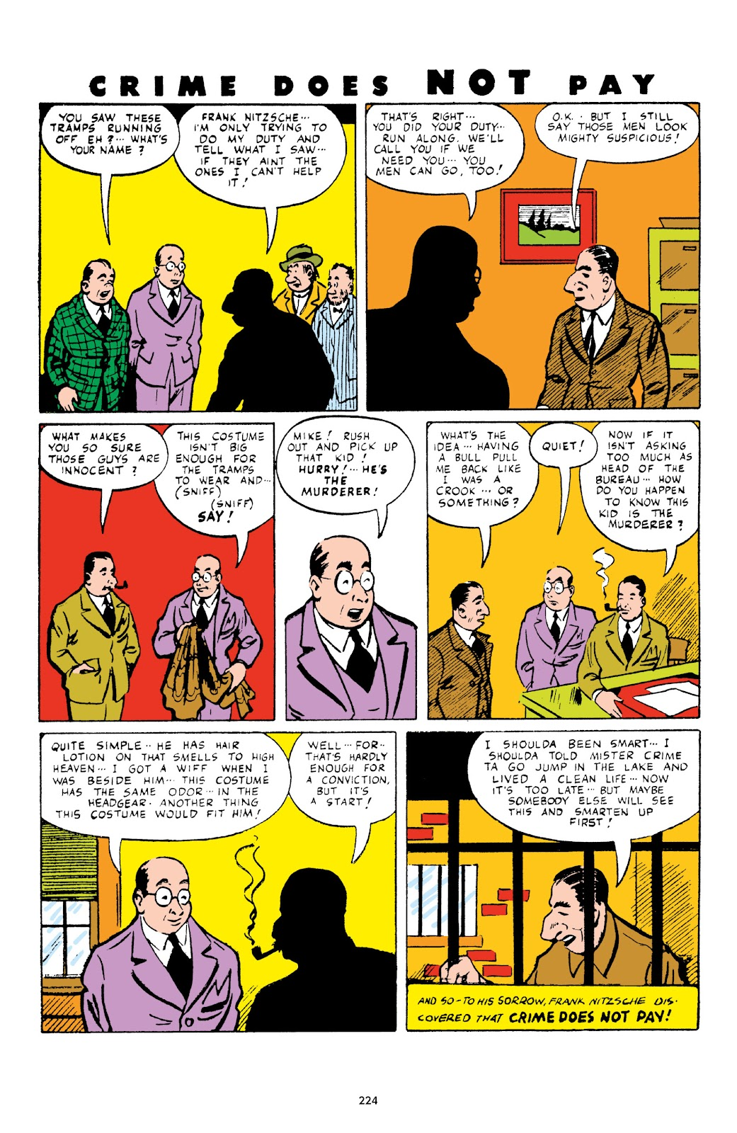 Read online Crime Does Not Pay Archives comic -  Issue # TPB 3 (Part 3) - 24