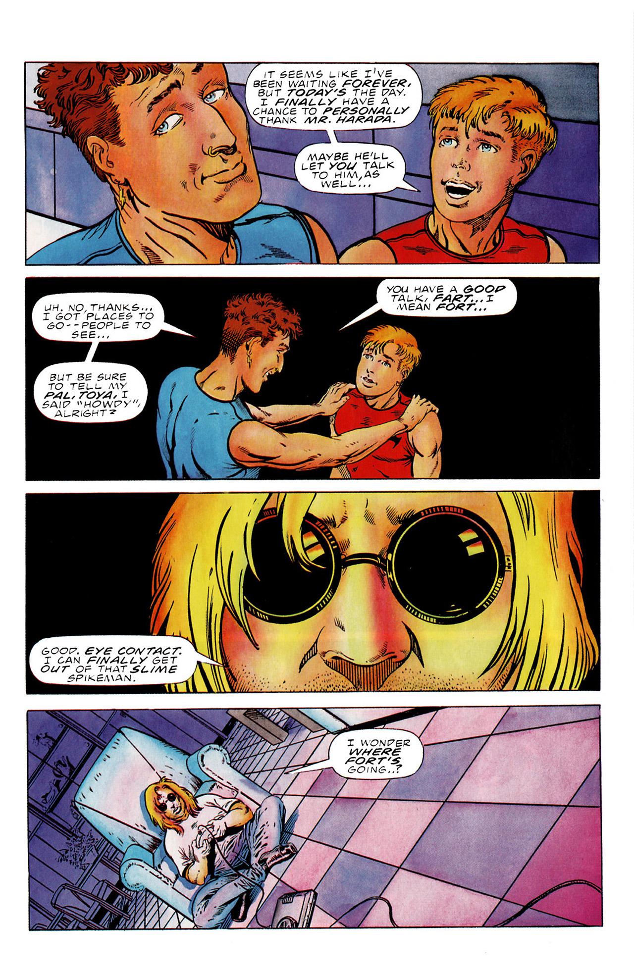 Read online Harbinger (1992) comic -  Issue #15 - 14