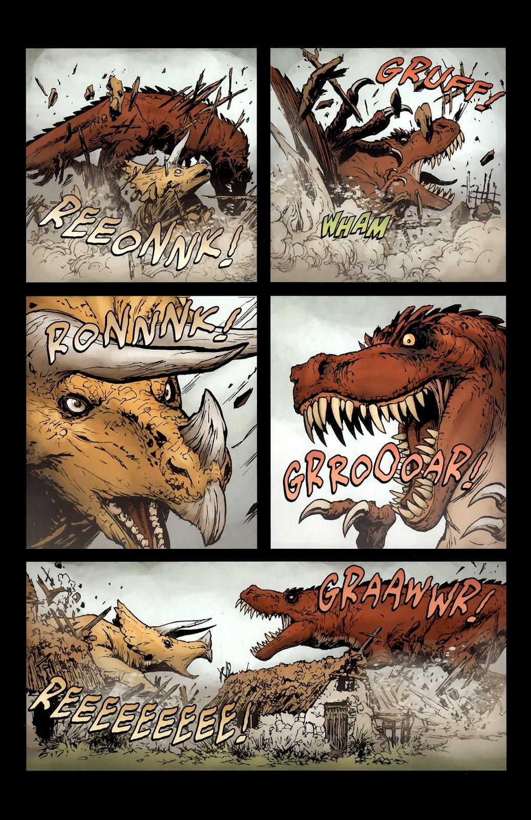 Read online Tyrannosaurus Rex comic -  Issue # Full - 5