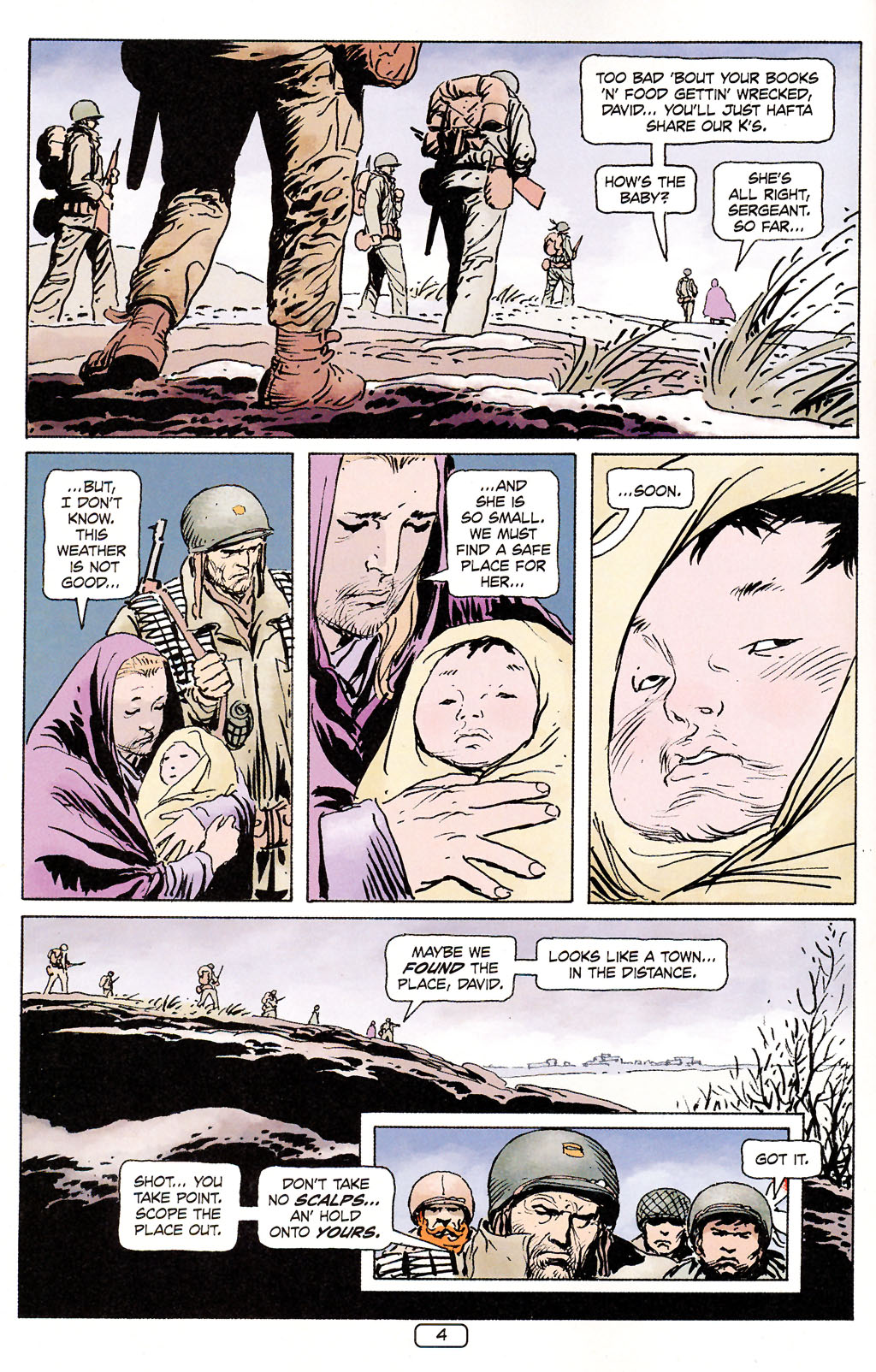 Read online Sgt. Rock: The Prophecy comic -  Issue #5 - 4