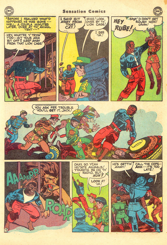 Read online Sensation (Mystery) Comics comic -  Issue #57 - 27