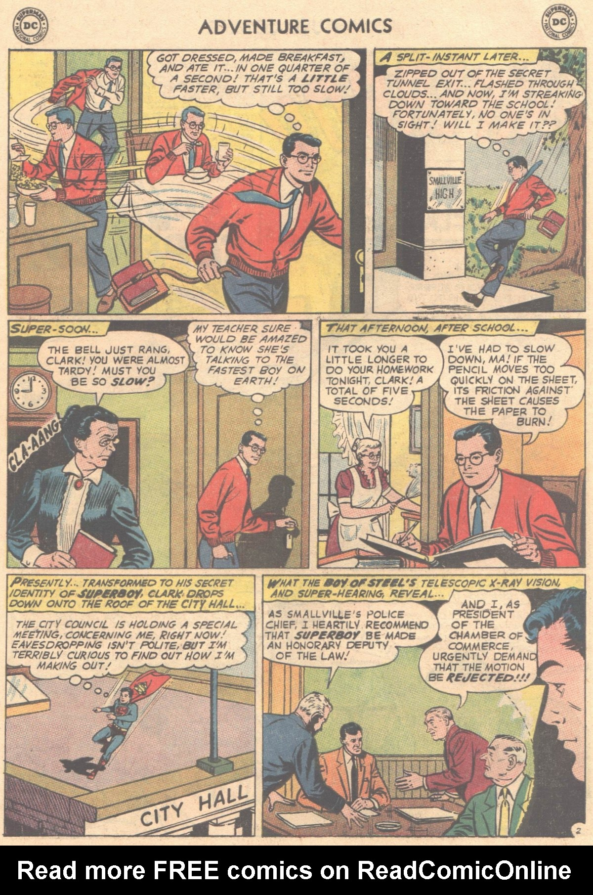 Read online Adventure Comics (1938) comic -  Issue #333 - 20