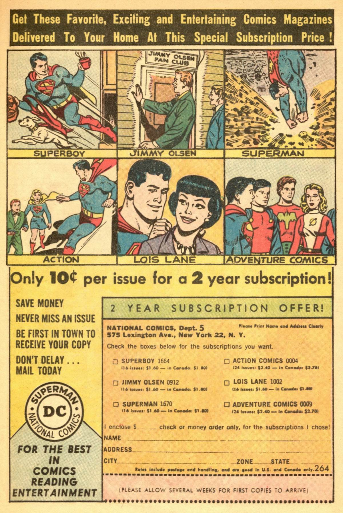 Read online Action Comics (1938) comic -  Issue #309 - 33