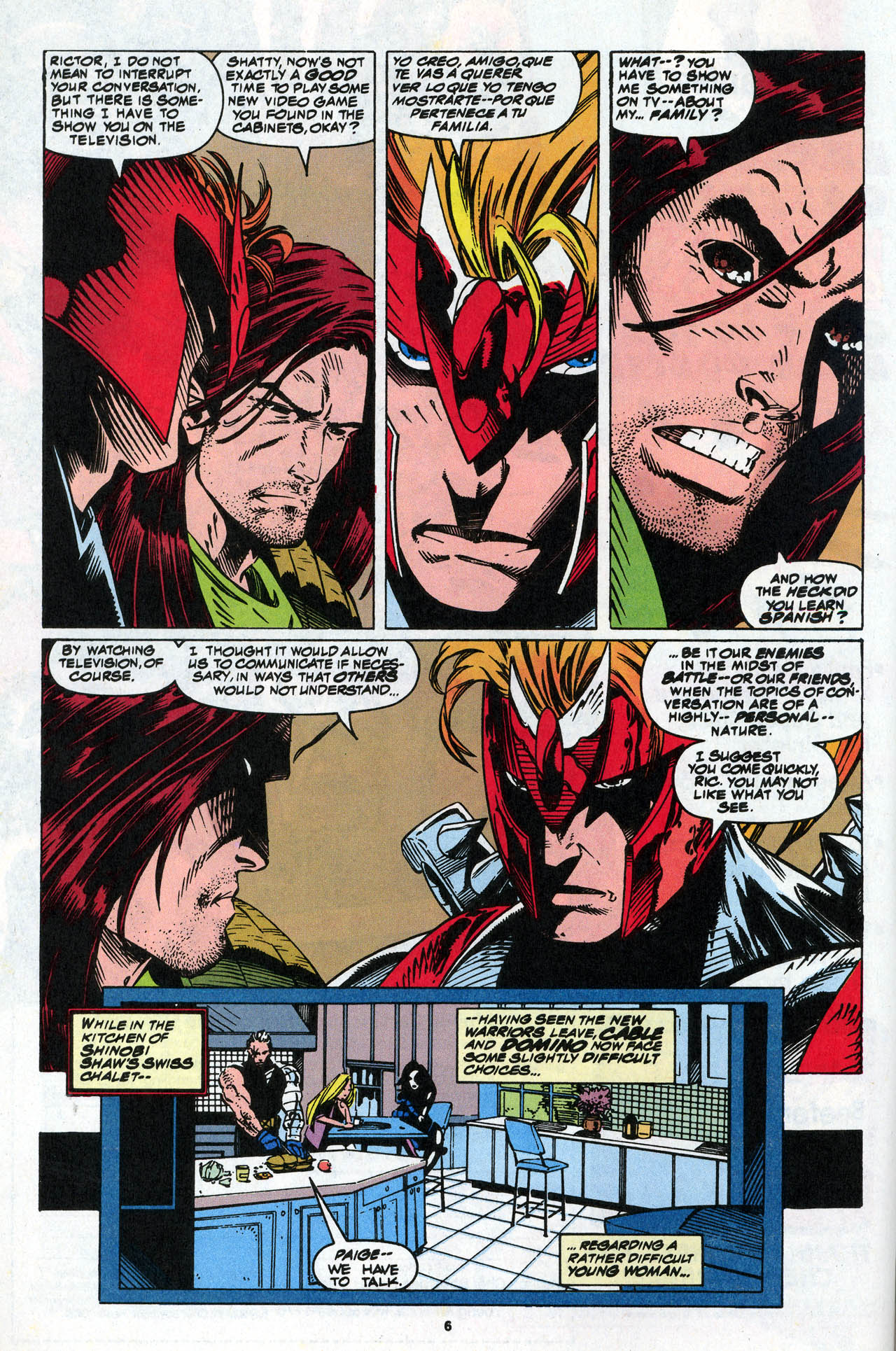 Read online X-Force (1991) comic -  Issue #34 - 8