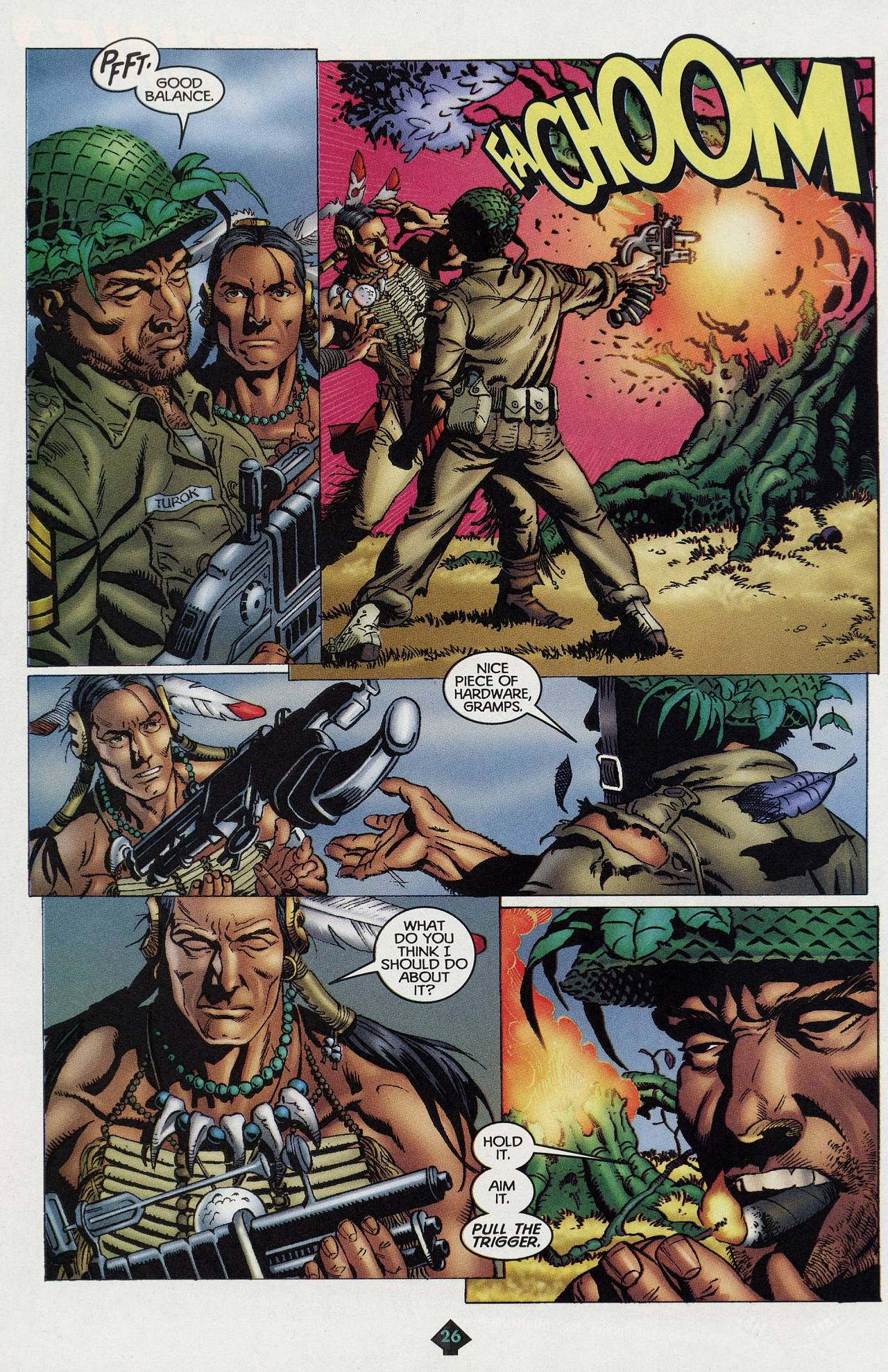 Read online Turok: Tales of the Lost Land comic -  Issue # Full - 23