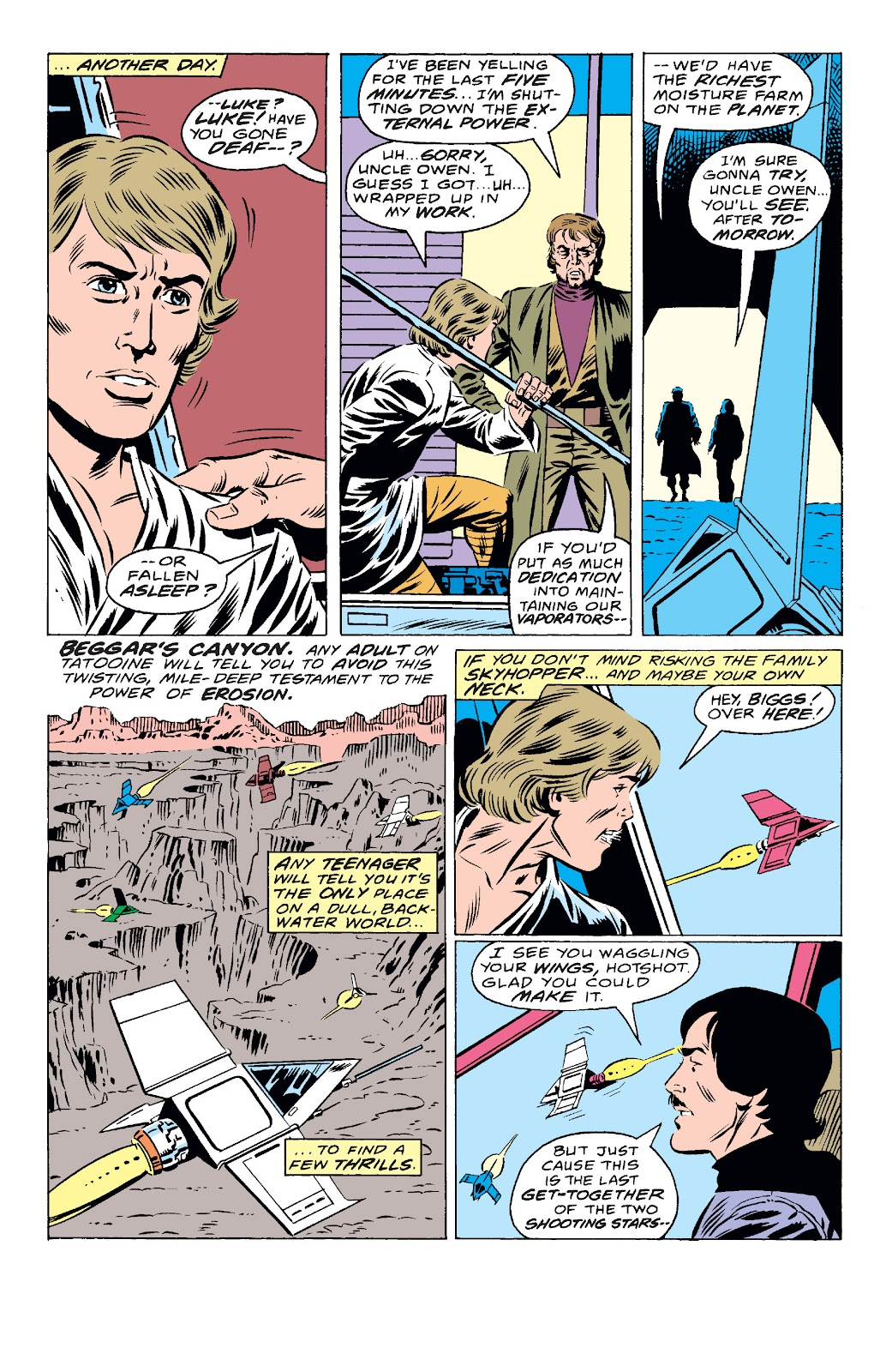 Read online Star Wars Legends: The Original Marvel Years - Epic Collection comic -  Issue # TPB 1 (Part 4) - 4