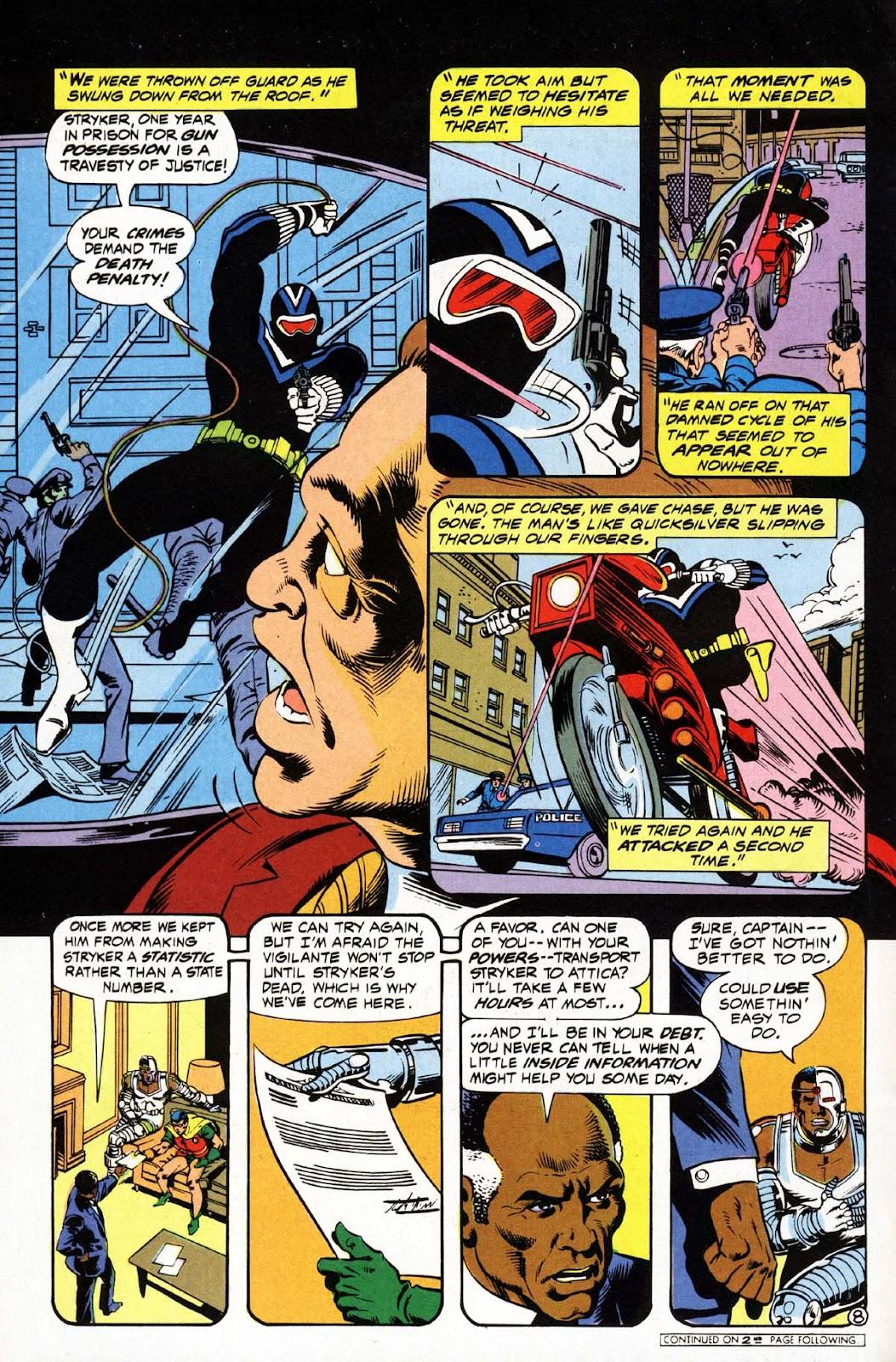 Vigilante (1983) issue 3 - Page 9