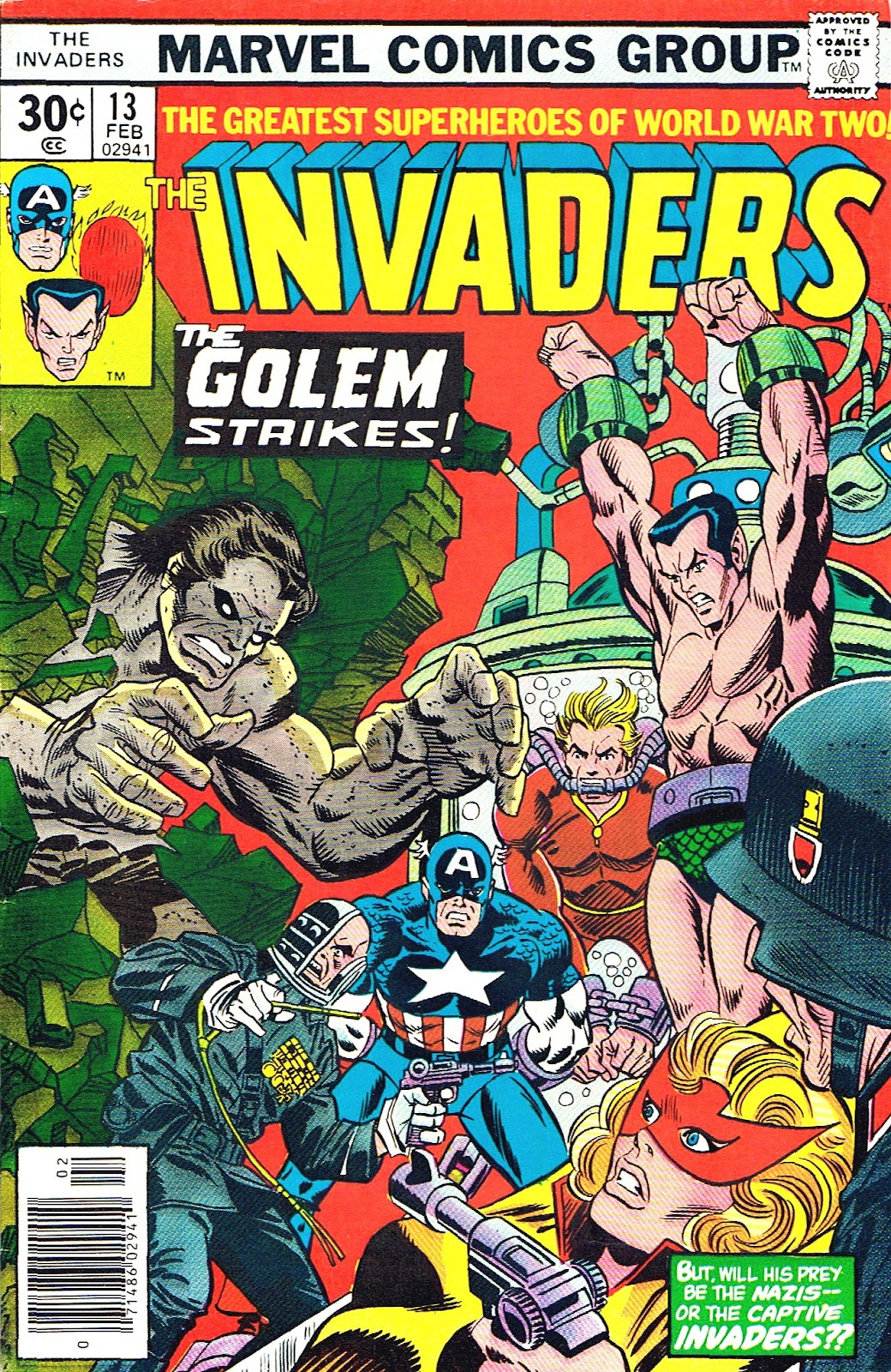 The Invaders (1975) issue 13 - Page 1