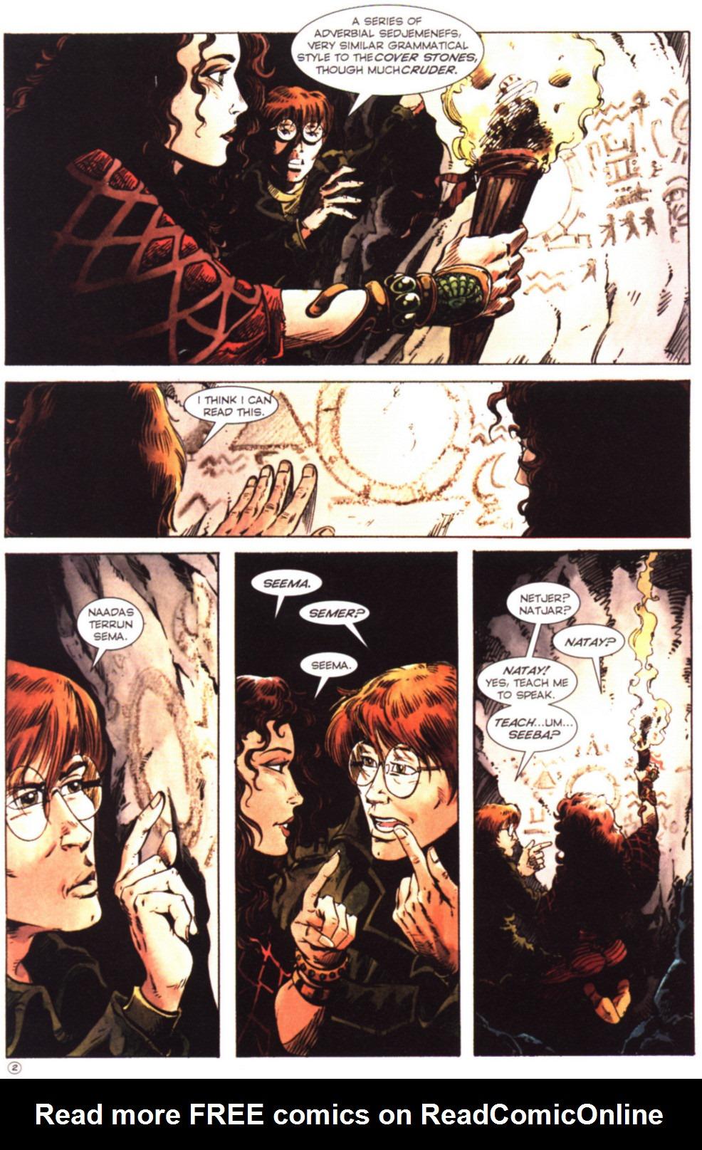 Read online Stargate comic -  Issue #2 - 4