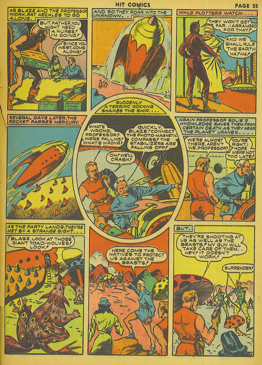 Read online Hit Comics comic -  Issue #13 - 57