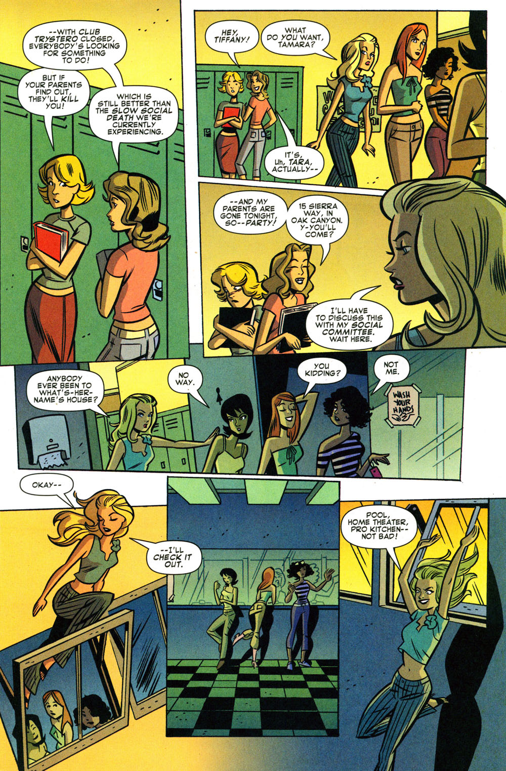 Read online Bad Girls comic -  Issue #2 - 9