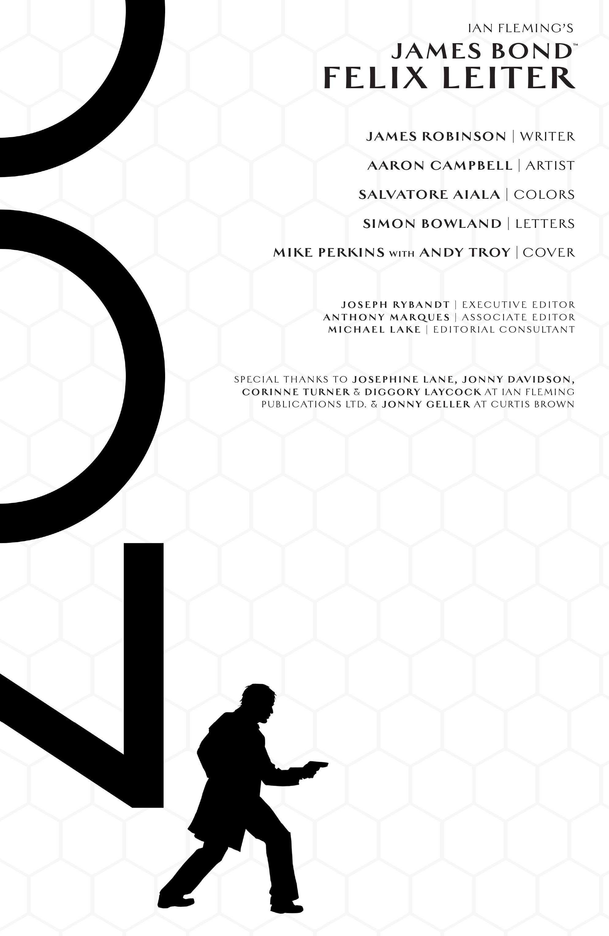 Read online James Bond: Felix Leiter comic -  Issue #5 - 2