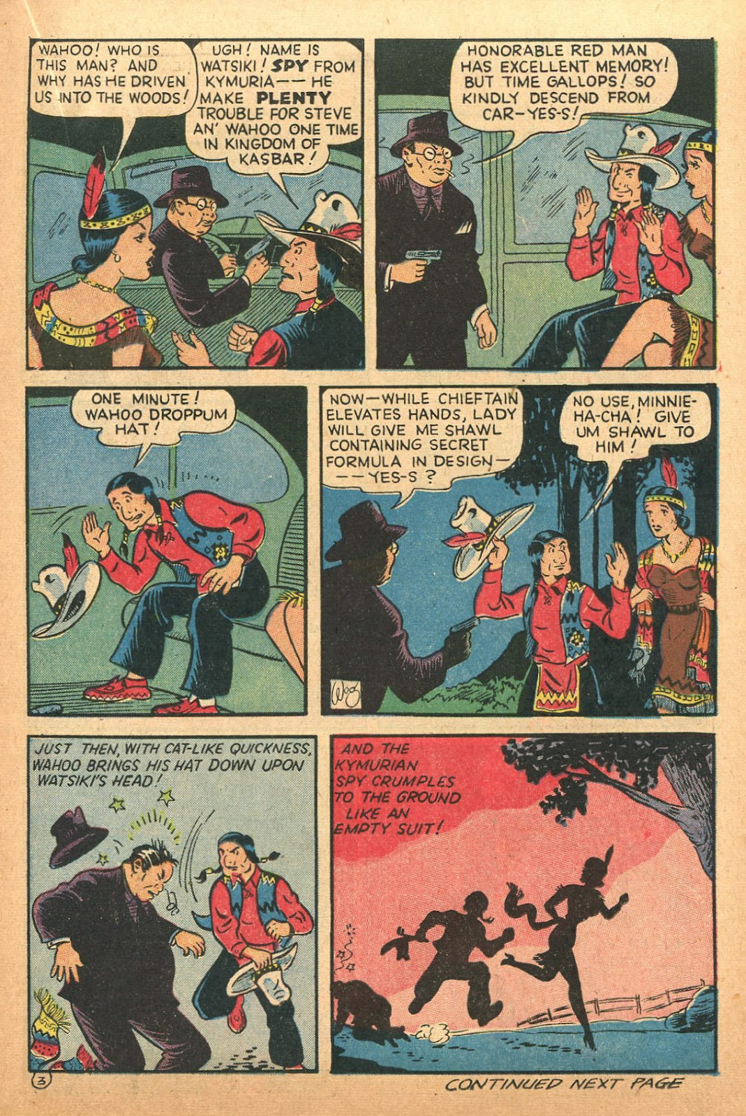 Read online Famous Funnies comic -  Issue #132 - 15