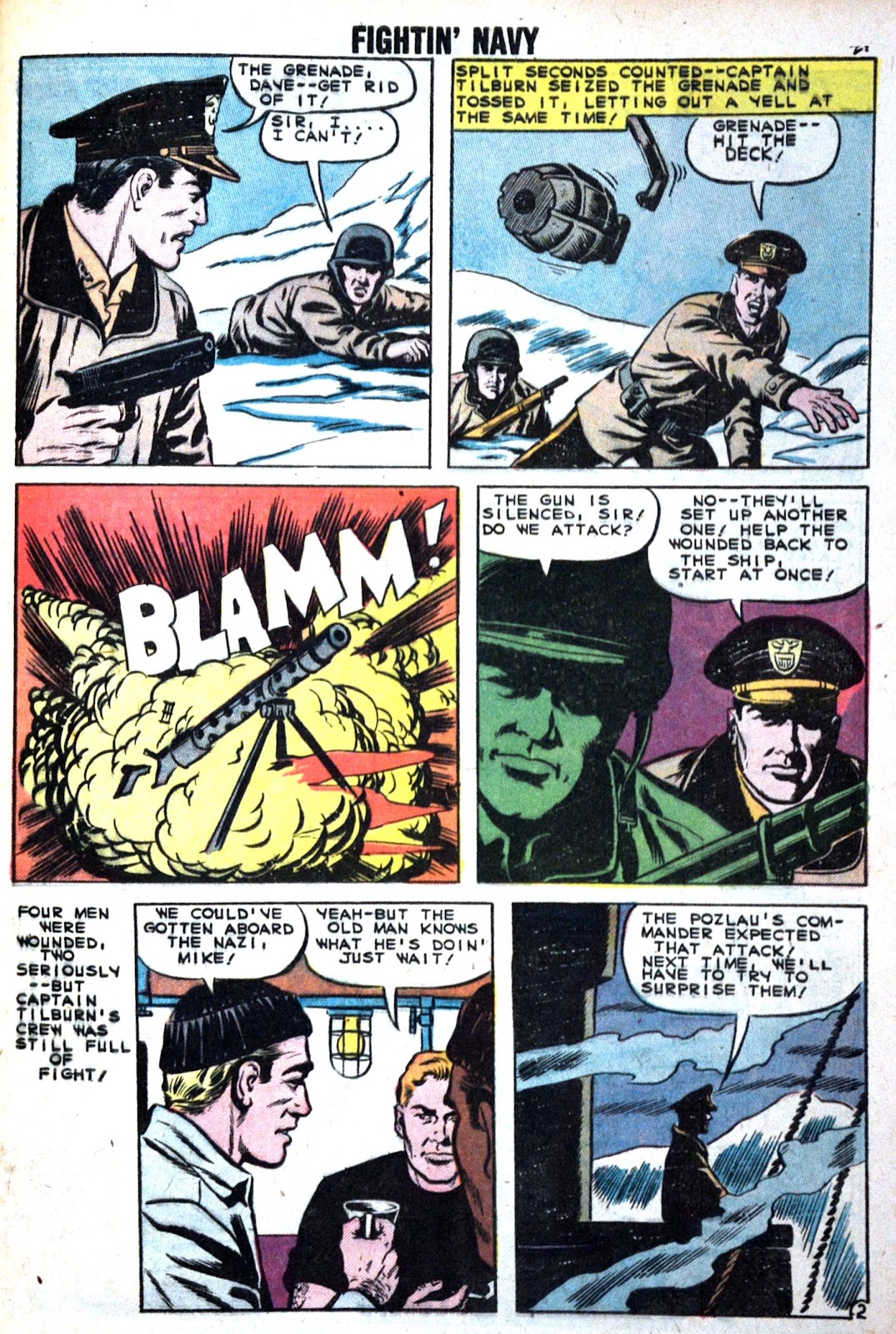 Read online Fightin' Navy comic -  Issue #89 - 29