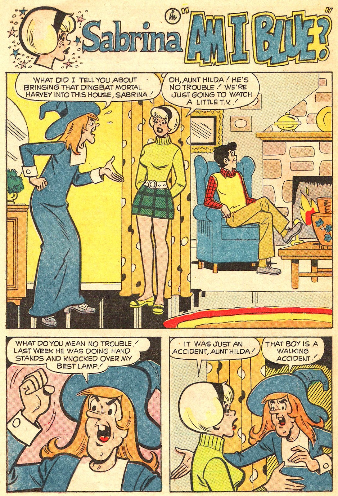 Sabrina The Teenage Witch (1971) Issue #17 #17 - English 36