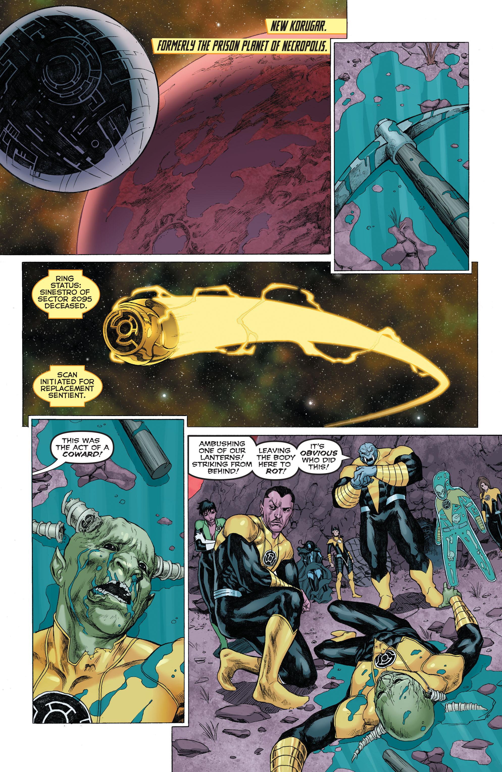 Read online Sinestro comic -  Issue # Annual 1 - 3