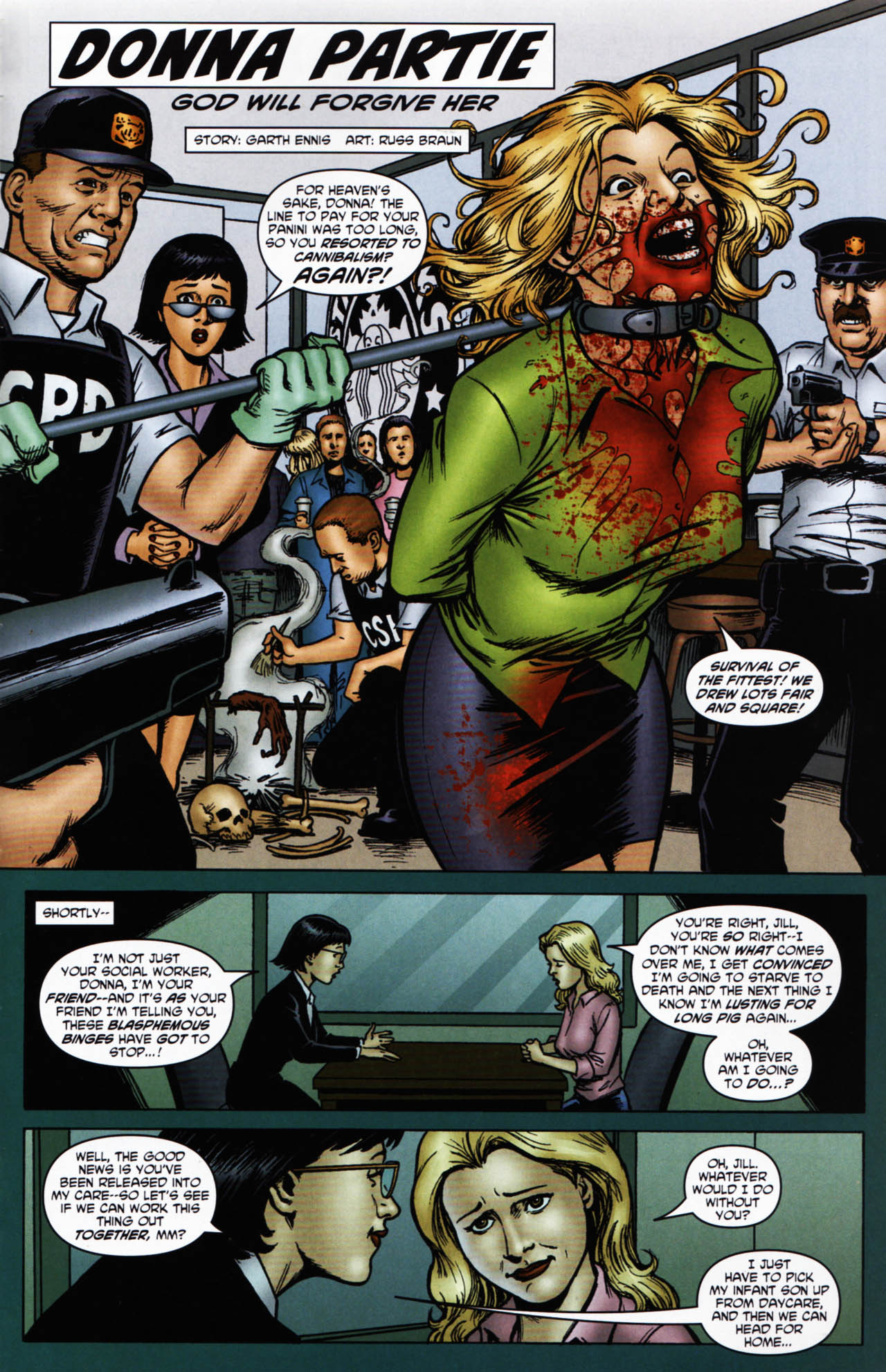 Read online Chronicles of Wormwood: The Last Enemy comic -  Issue # Full - 49