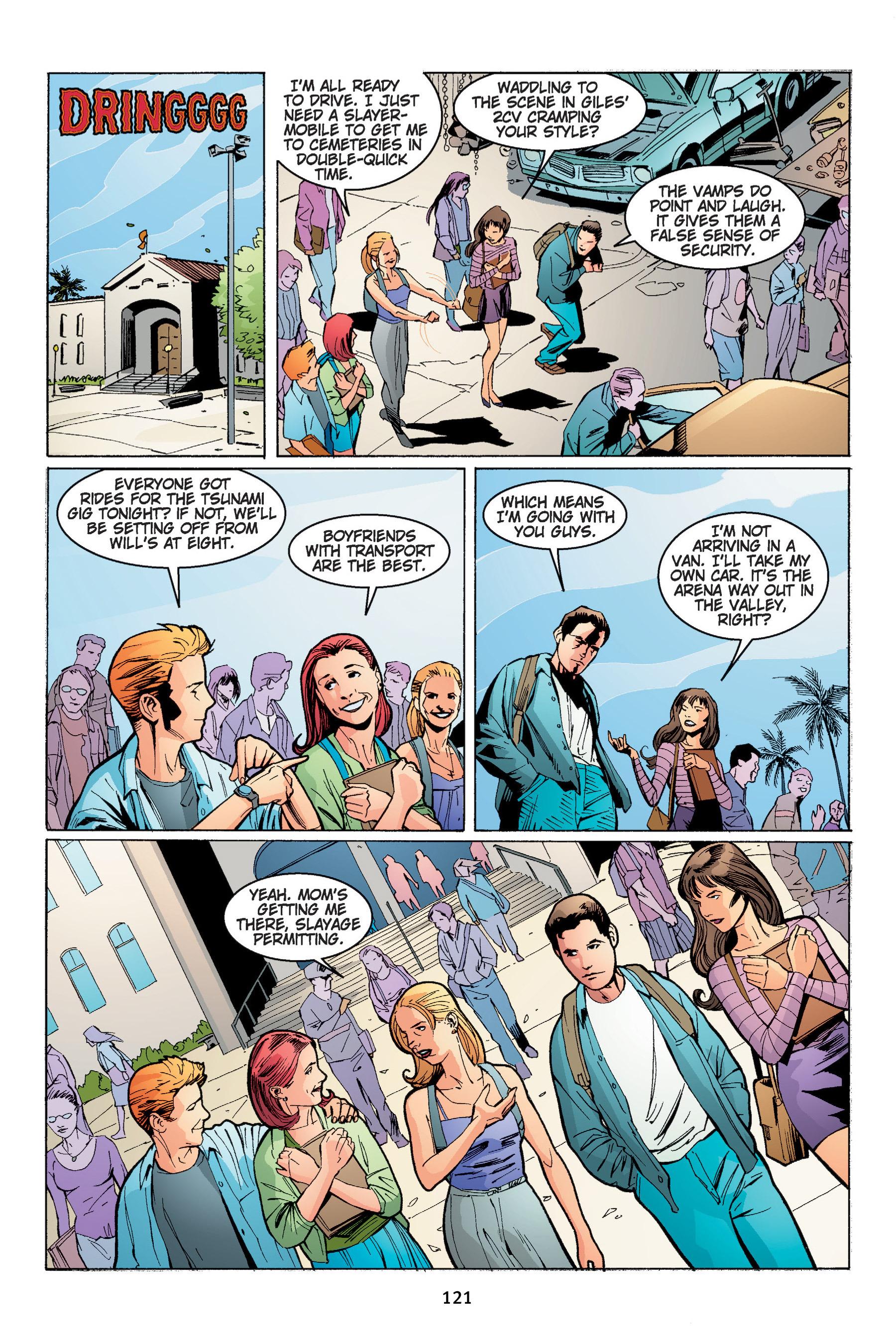 Read online Buffy the Vampire Slayer: Omnibus comic -  Issue # TPB 4 - 122