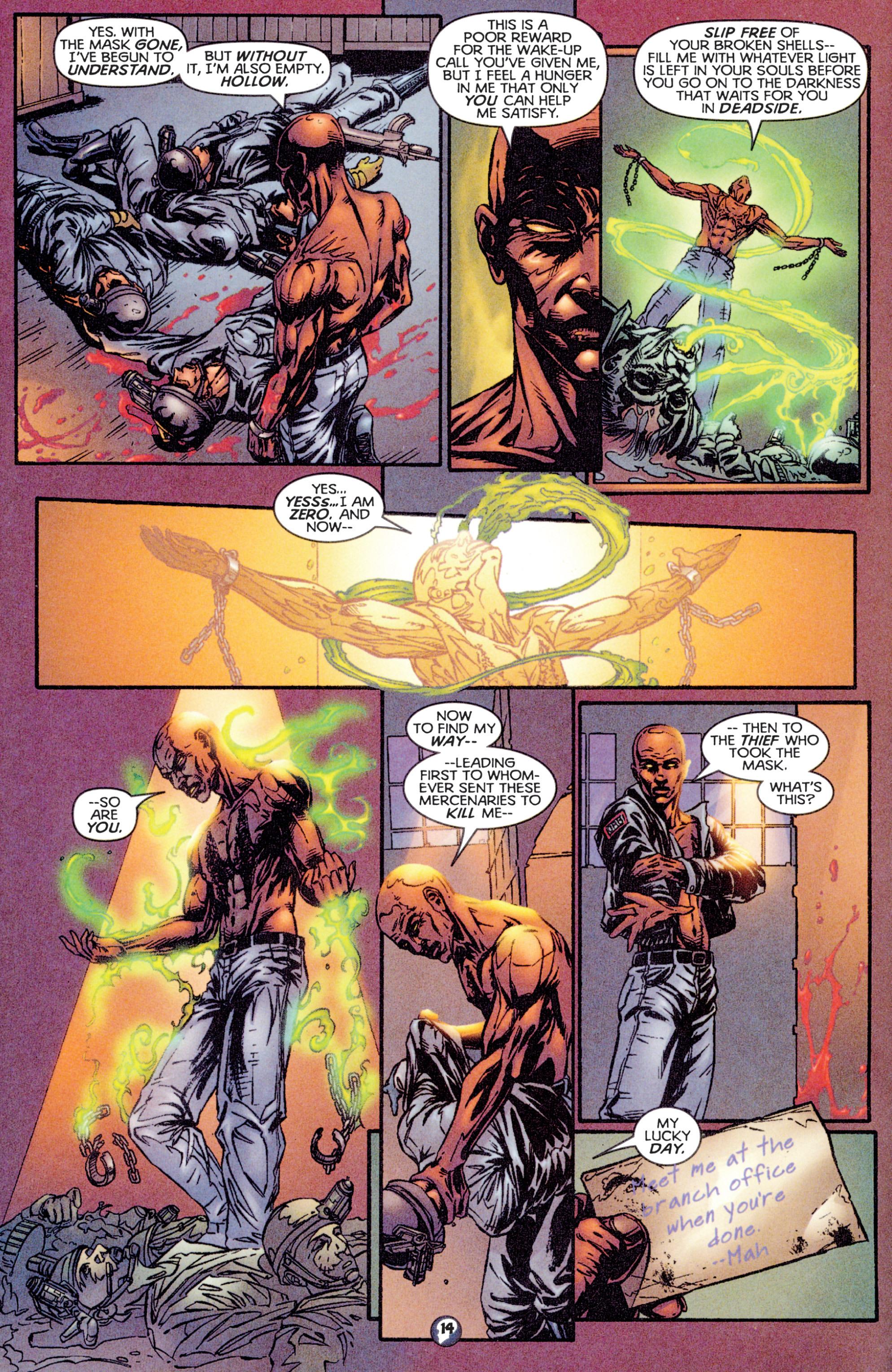 Read online Shadowman (1997) comic -  Issue #16 - 12