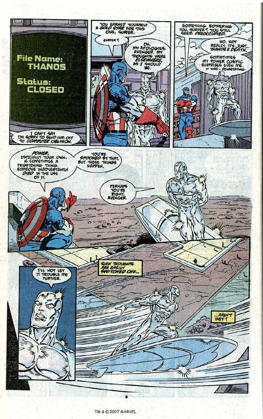 Read online Silver Surfer (1987) comic -  Issue # _Annual 3 - 10