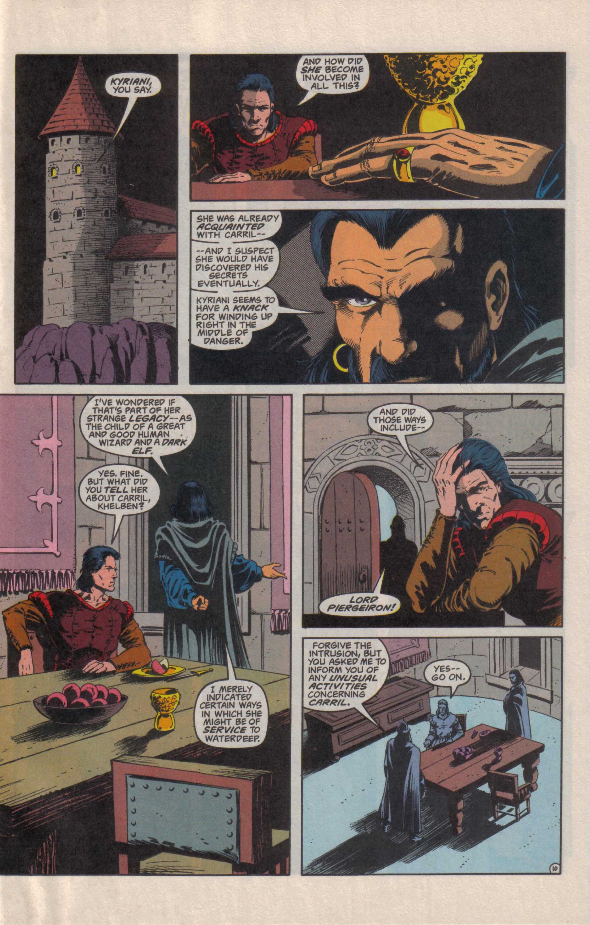 Read online Advanced Dungeons & Dragons comic -  Issue #27 - 11