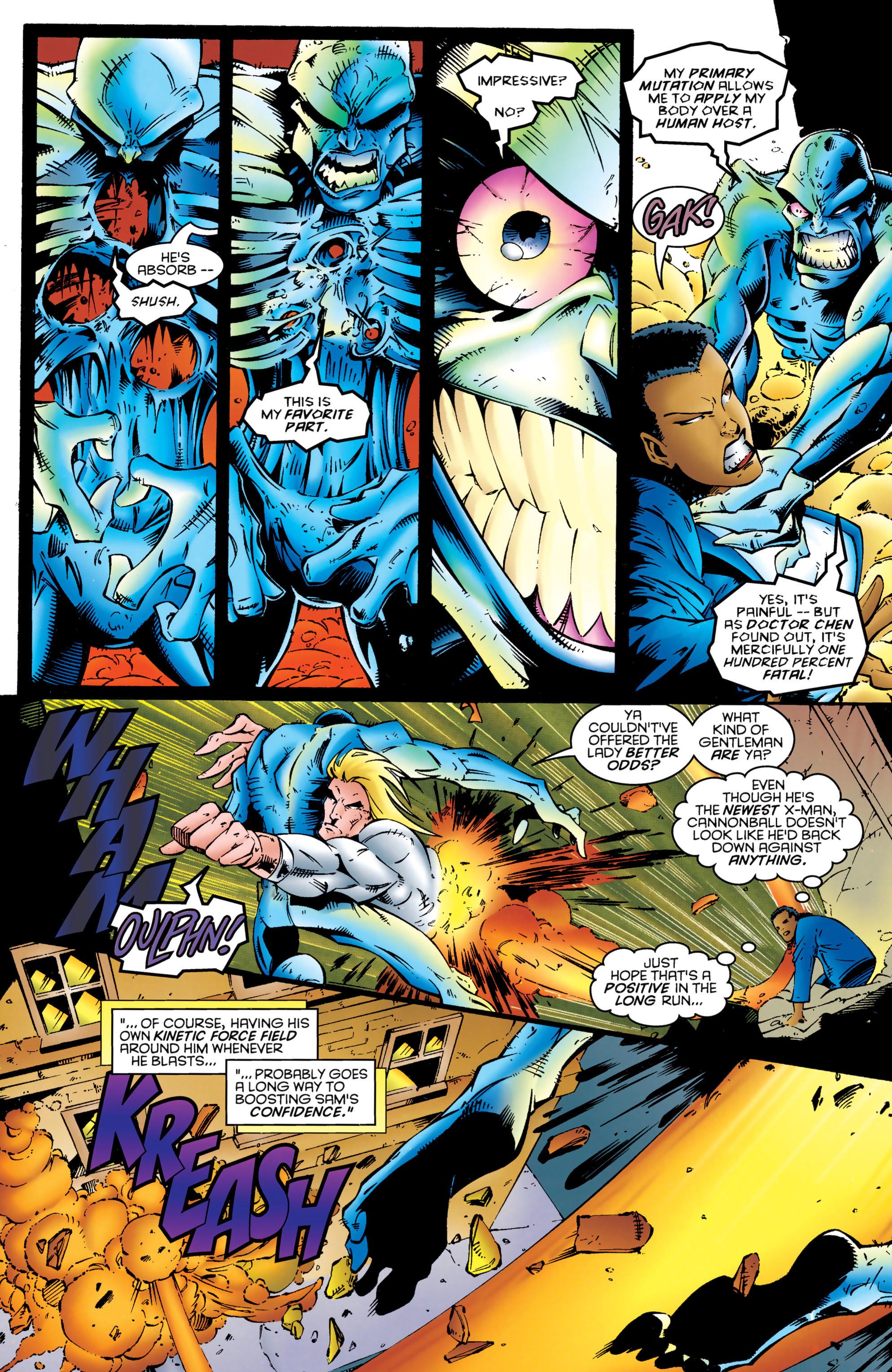 Read online Uncanny X-Men (1963) comic -  Issue #324 - 8