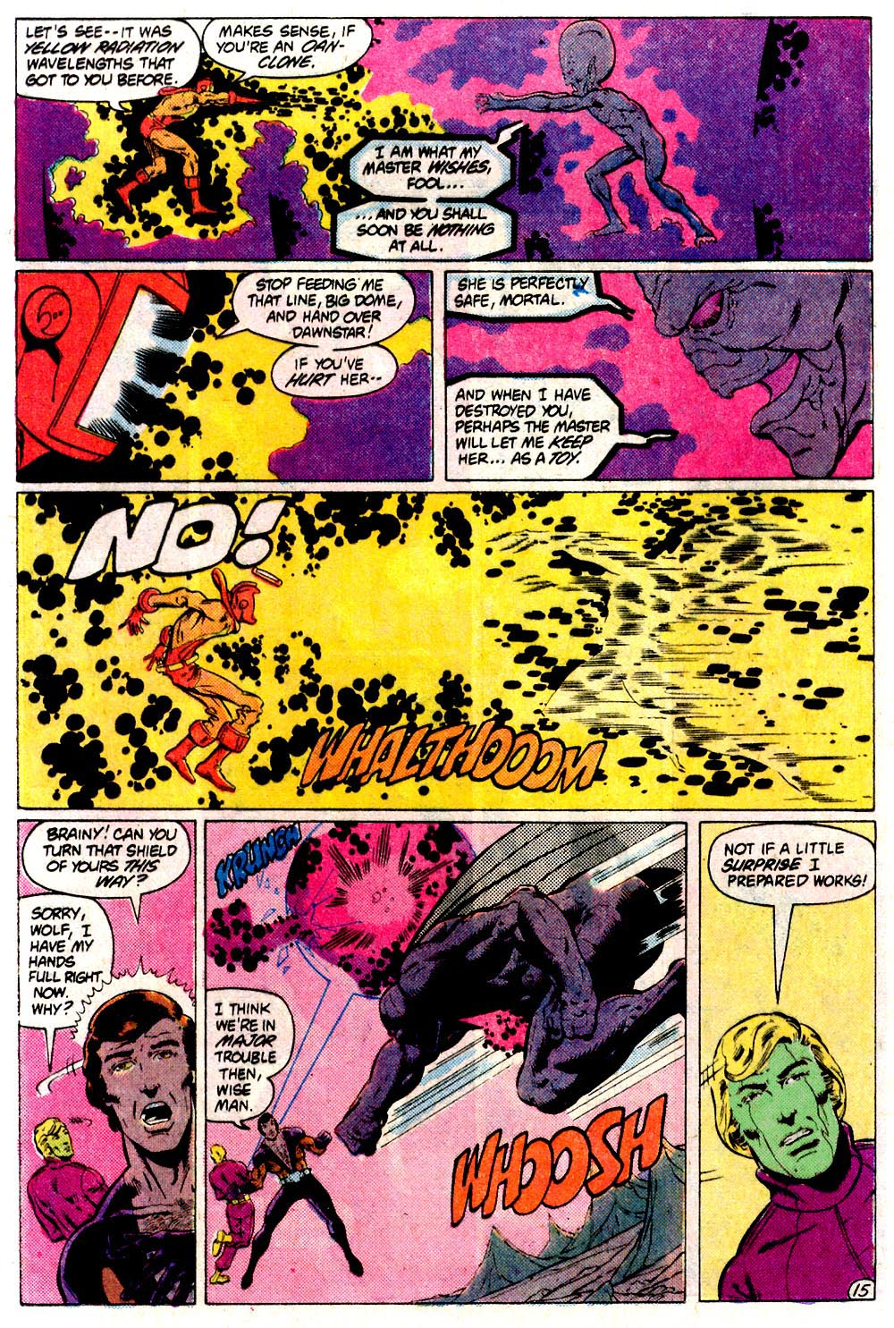 Legion of Super-Heroes (1980) 293 Page 15