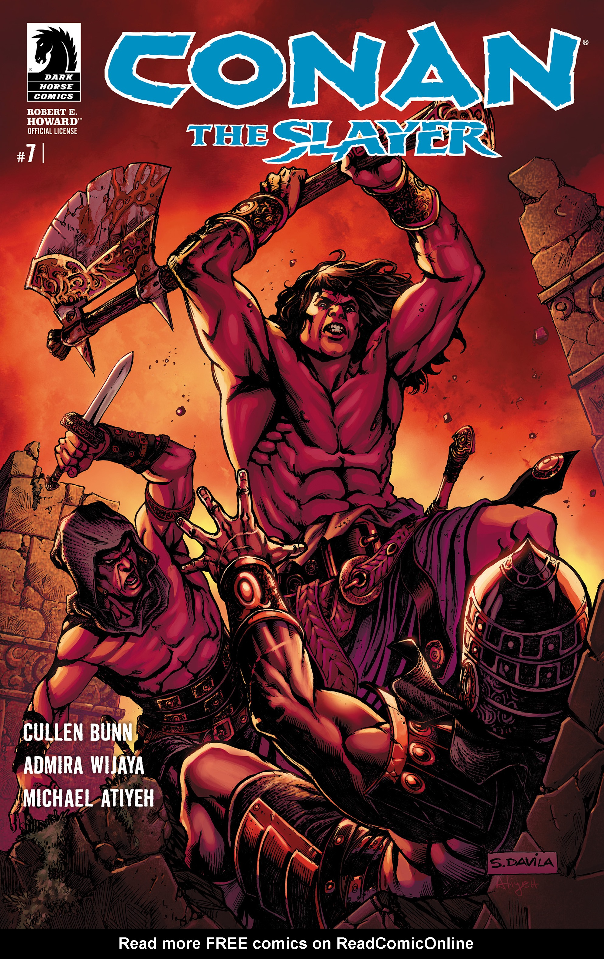 Conan The Slayer 7 Page 1