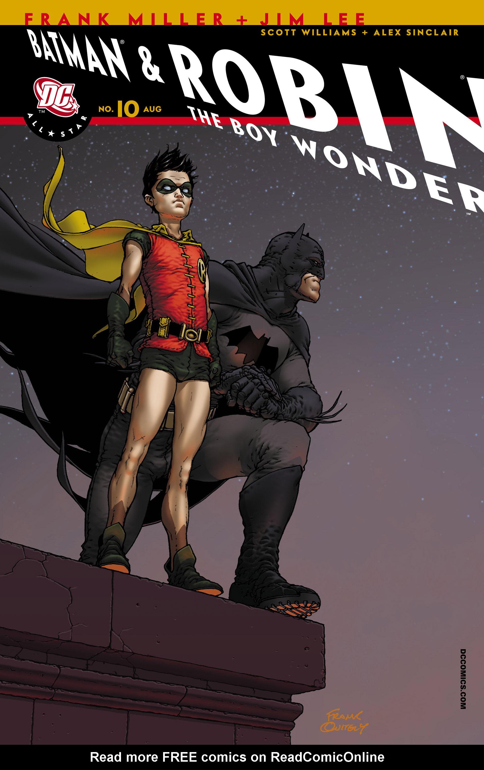Read online All Star Batman & Robin, The Boy Wonder comic -  Issue #10 - 2