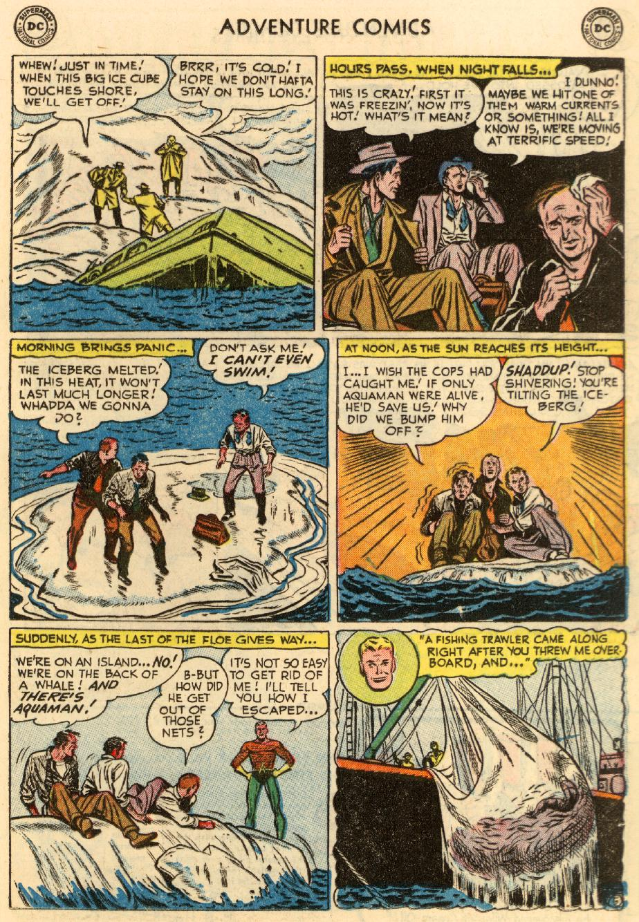 Read online Adventure Comics (1938) comic -  Issue #195 - 21