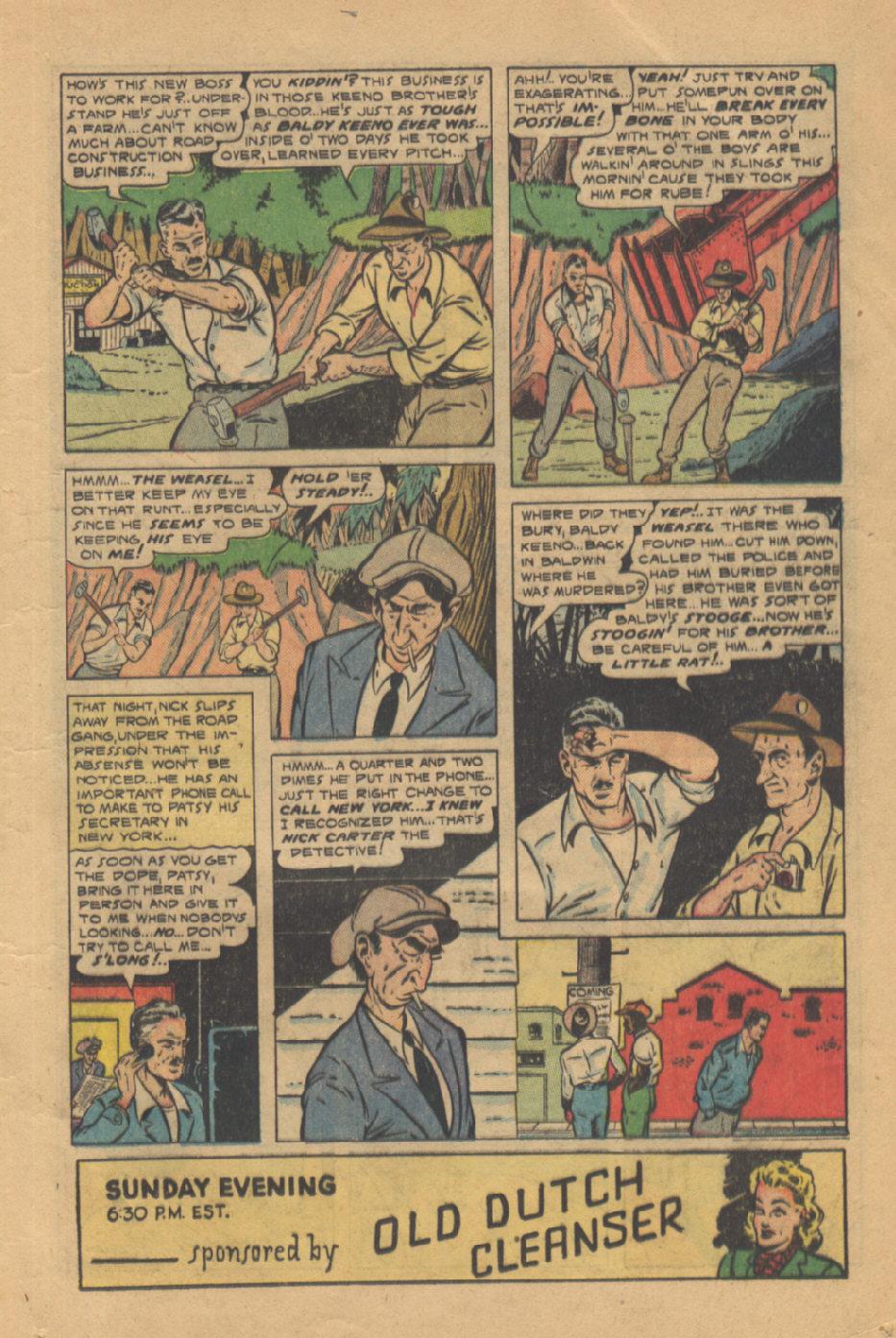 Read online Shadow Comics comic -  Issue #95 - 21