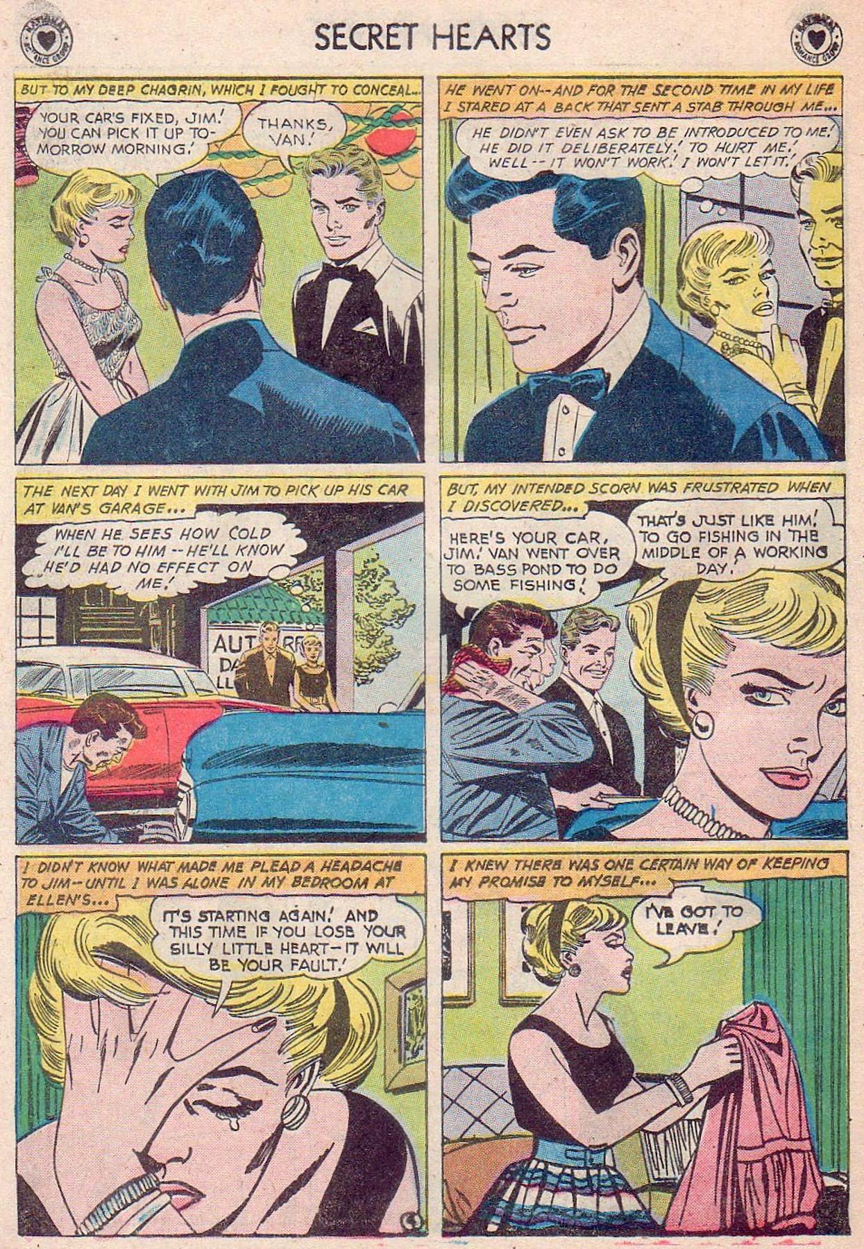 Read online Secret Hearts comic -  Issue #61 - 30