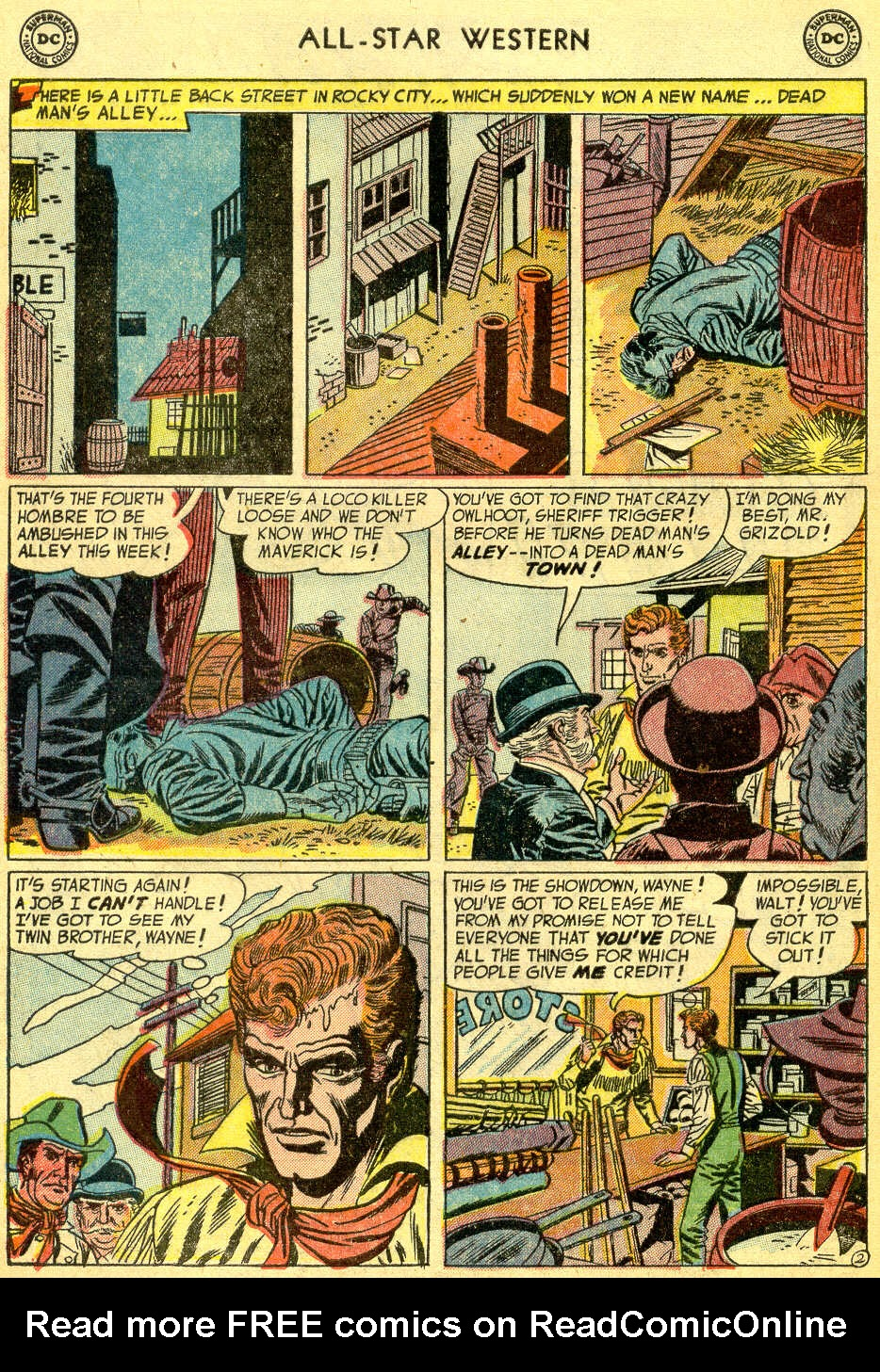 Read online All-Star Western (1951) comic -  Issue #75 - 4