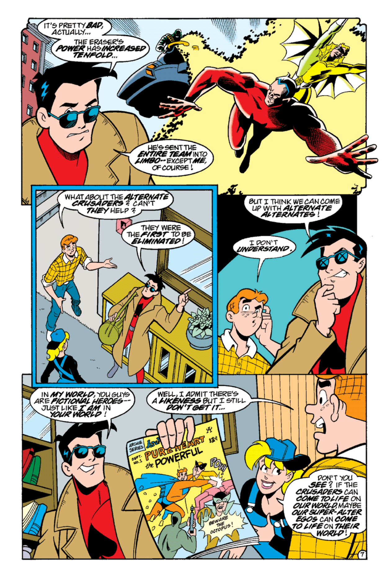 Read online Archie's Weird Mysteries comic -  Issue #14 - 9
