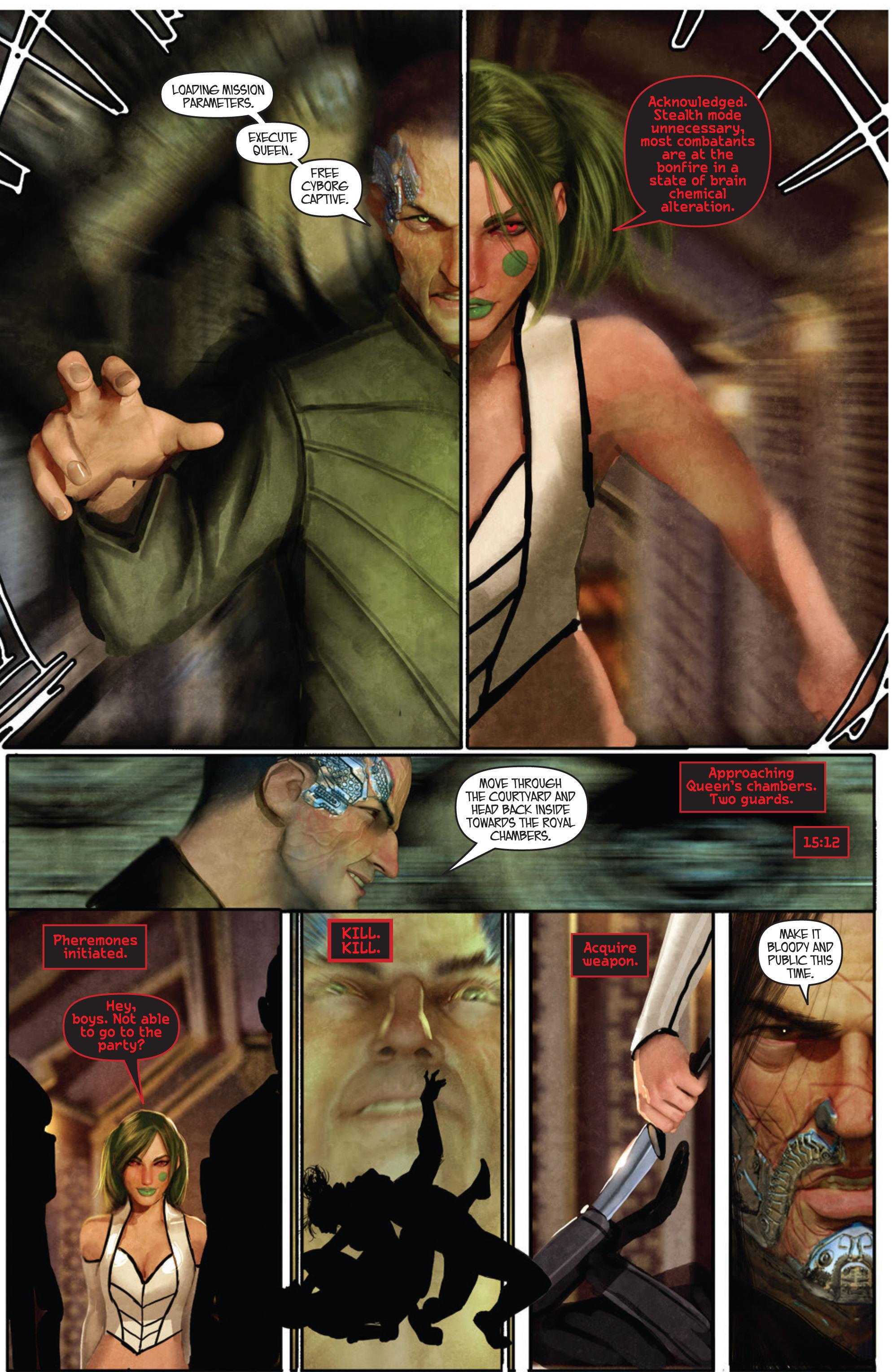 Read online Aphrodite IX (2013) comic -  Issue #Aphrodite IX (2013) _TPB 1 - 42