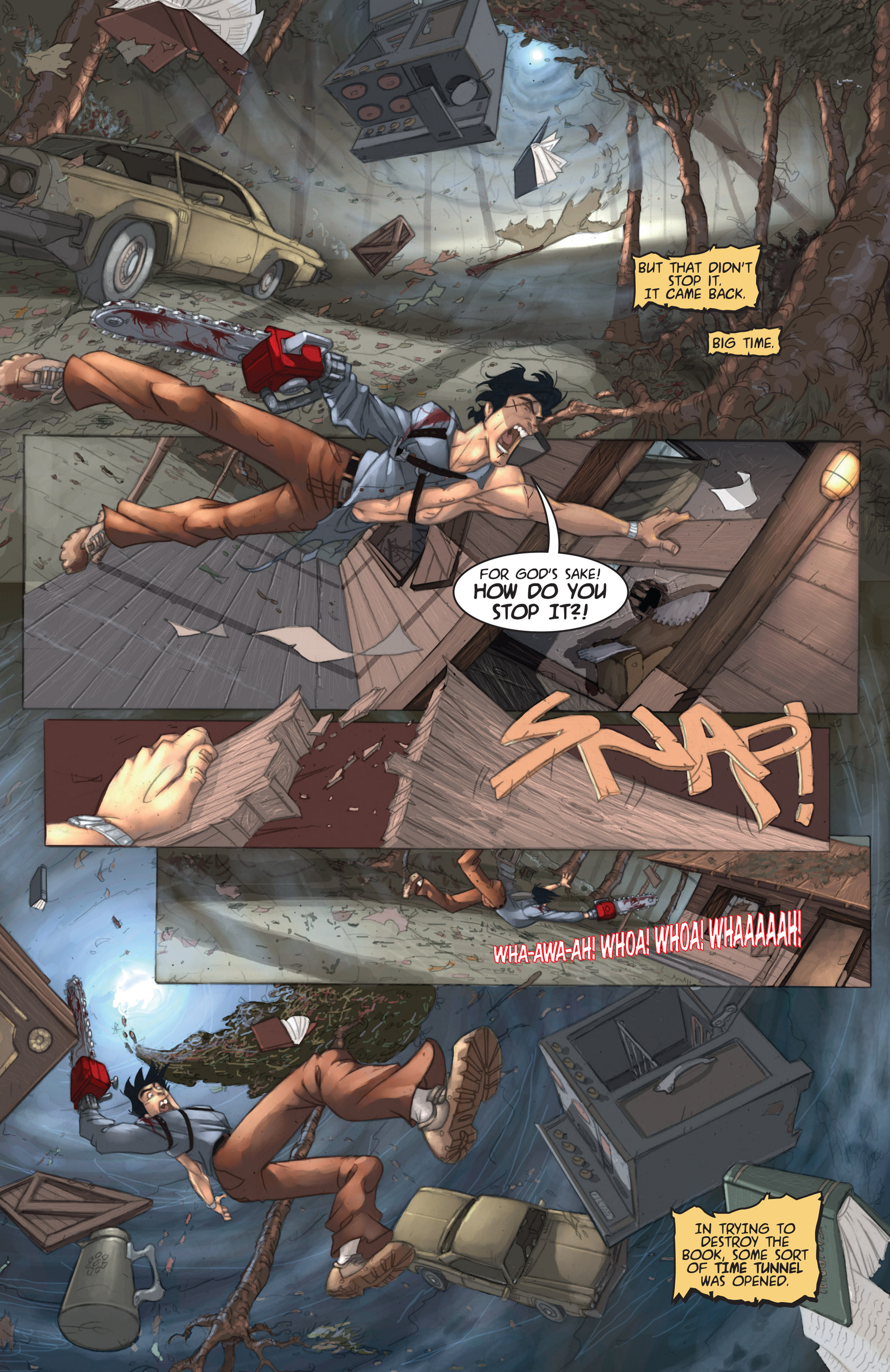Read online Army of Darkness: Ashes 2 Ashes comic -  Issue #1 - 11