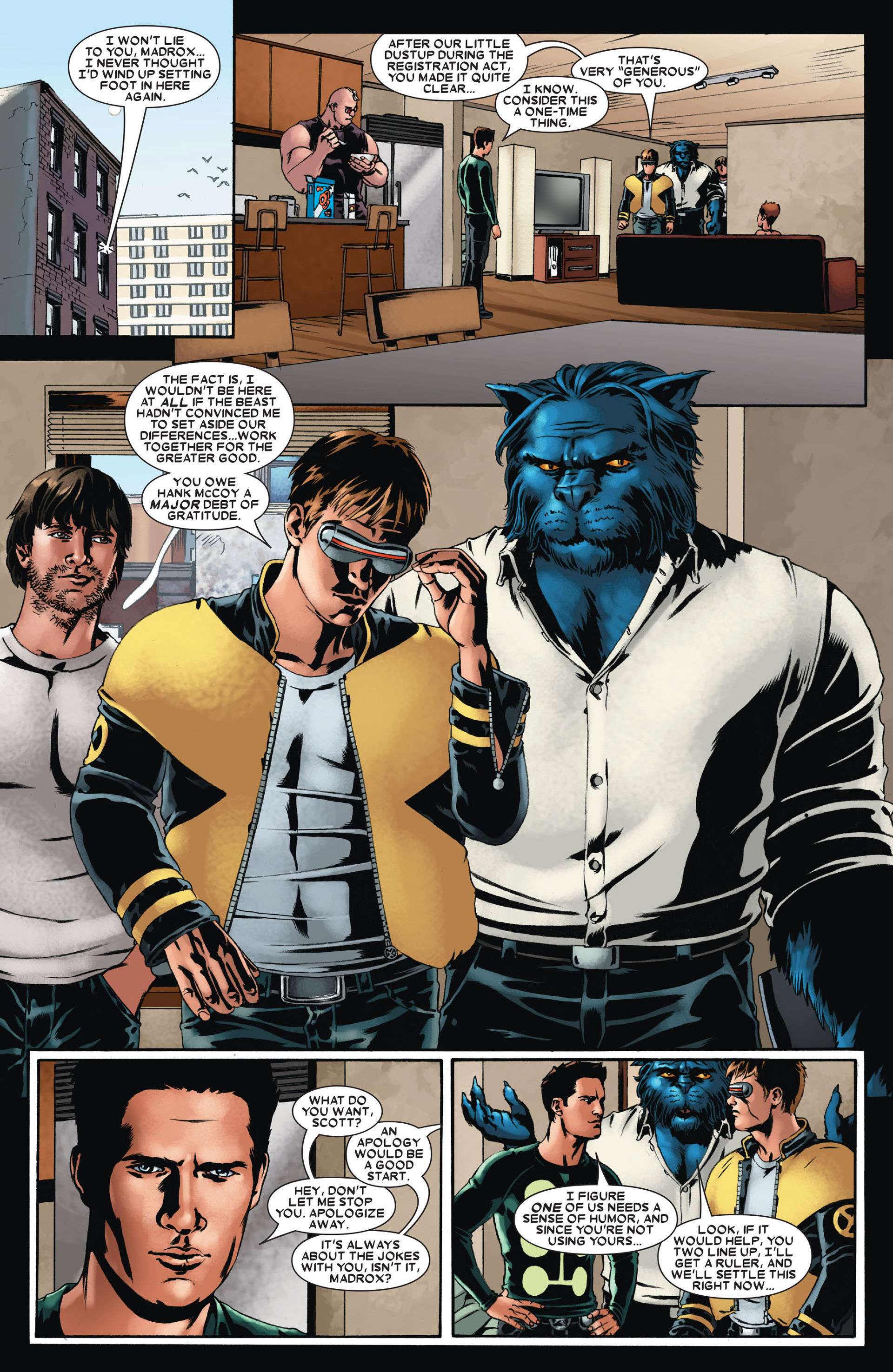 Read online X-Factor (2006) comic -  Issue #23 - 5