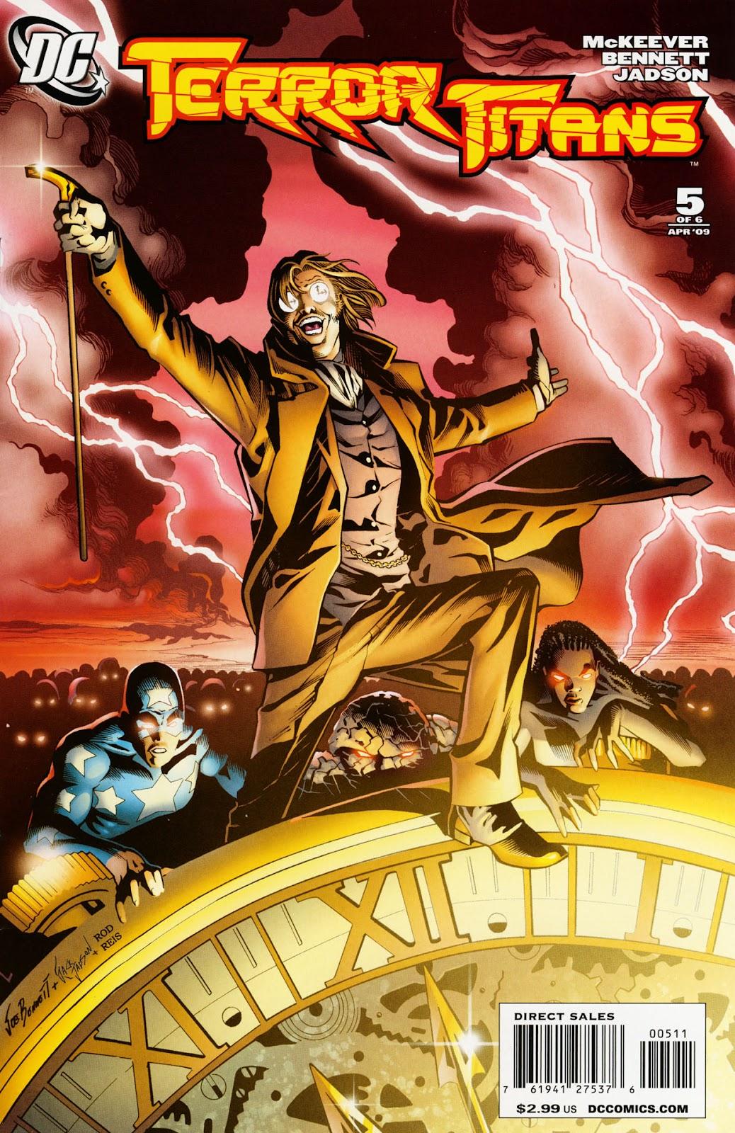 Terror Titans issue 5 - Page 1