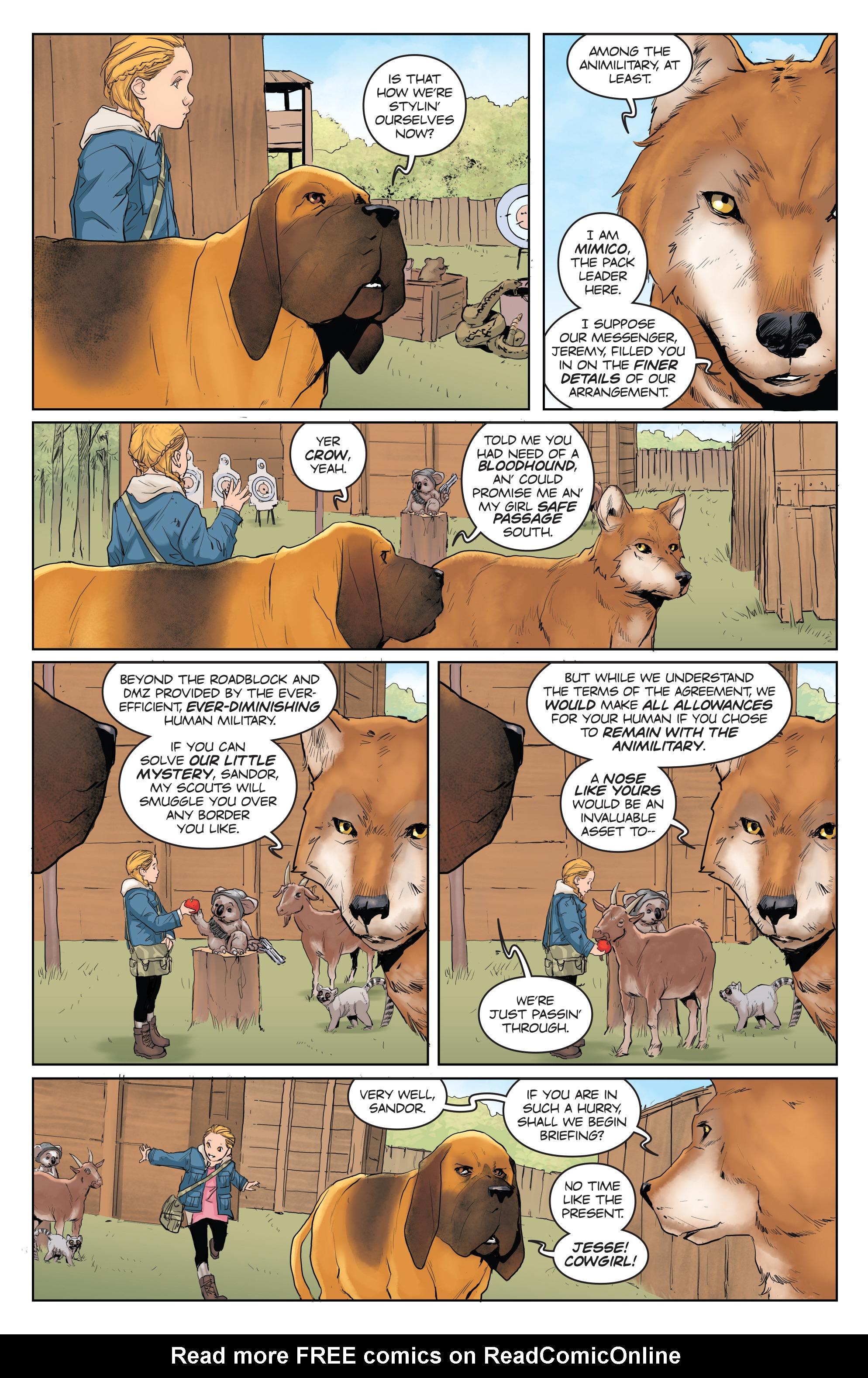 Read online Animosity comic -  Issue #3 - 9