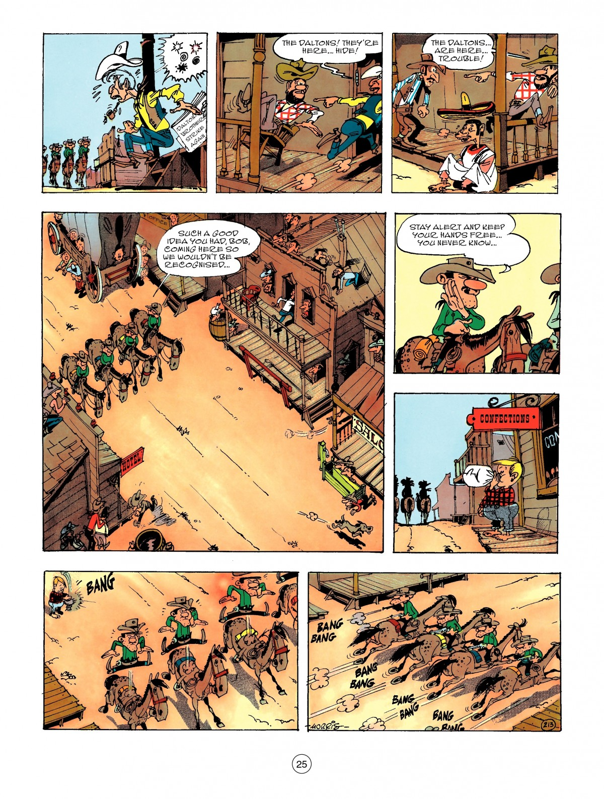 Read online A Lucky Luke Adventure comic -  Issue #47 - 25
