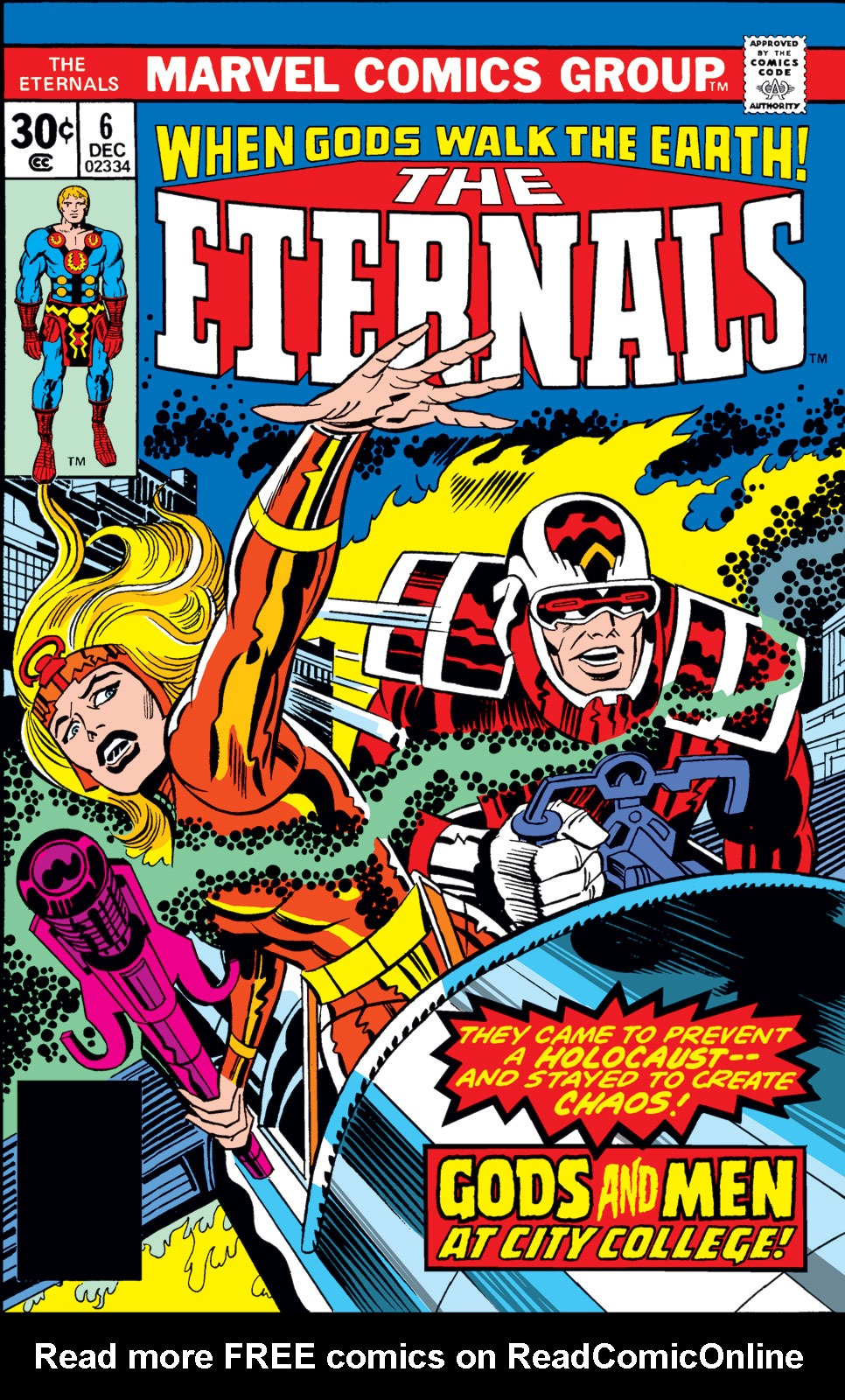 The Eternals issue 6 - Page 1