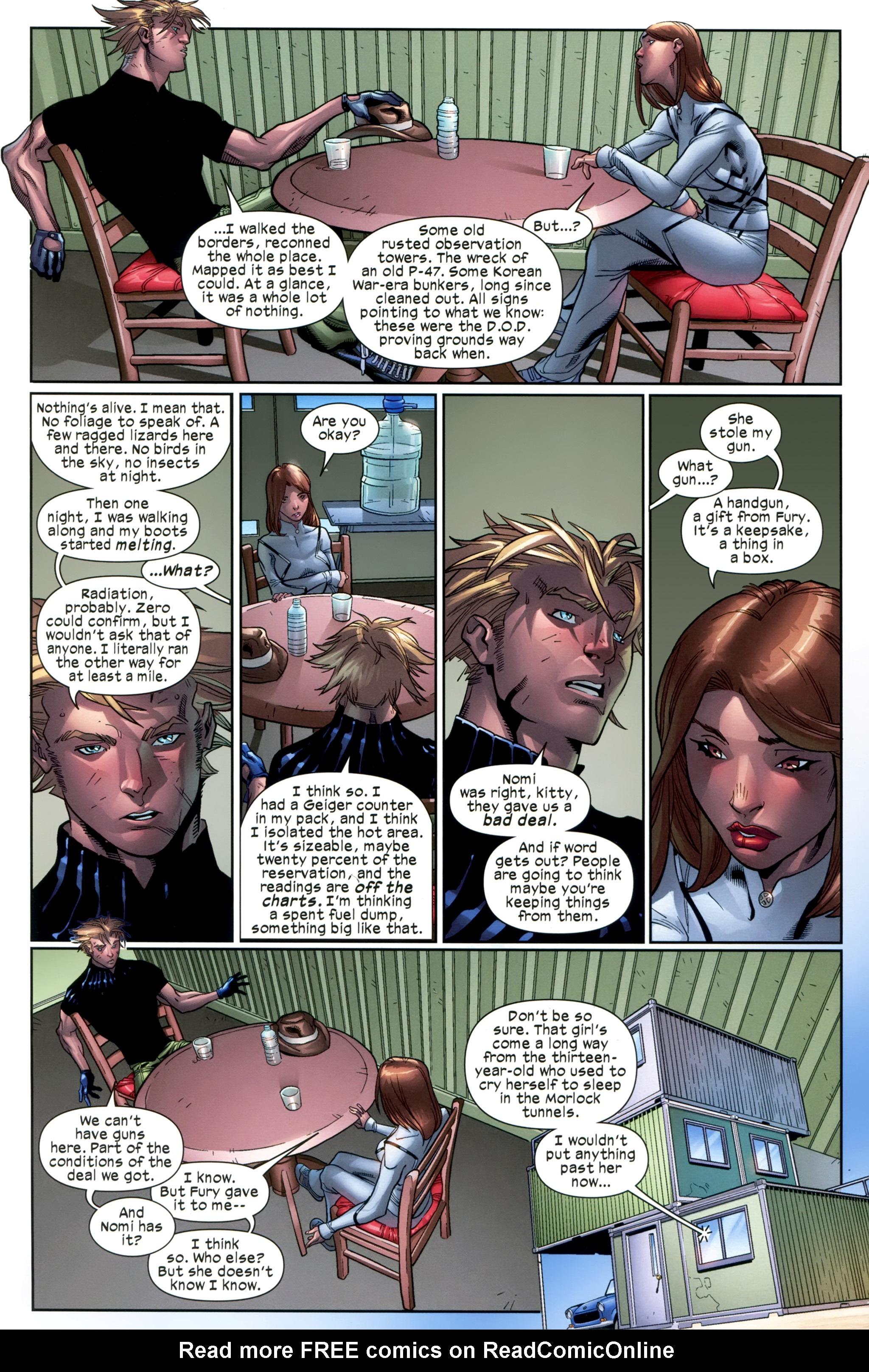 Read online Ultimate Comics X-Men comic -  Issue #20 - 9