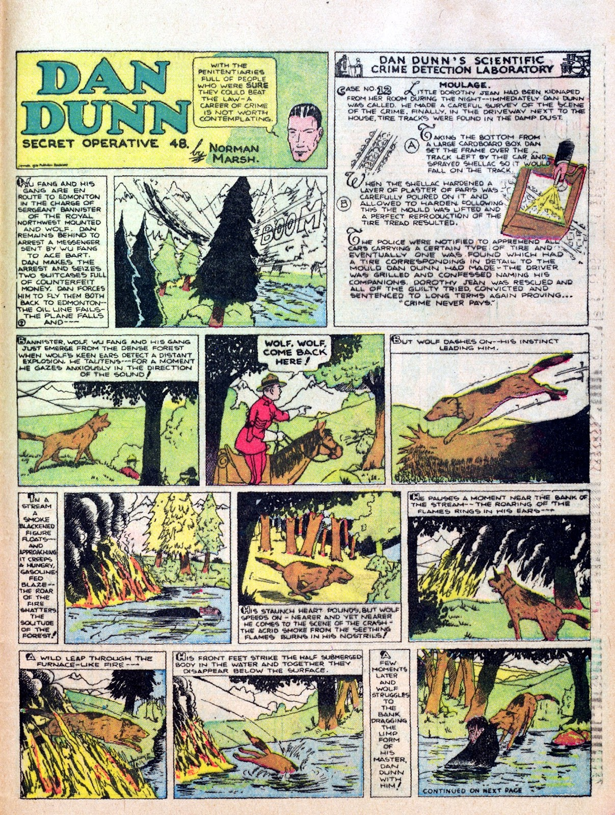 Read online Famous Funnies comic -  Issue #10 - 57