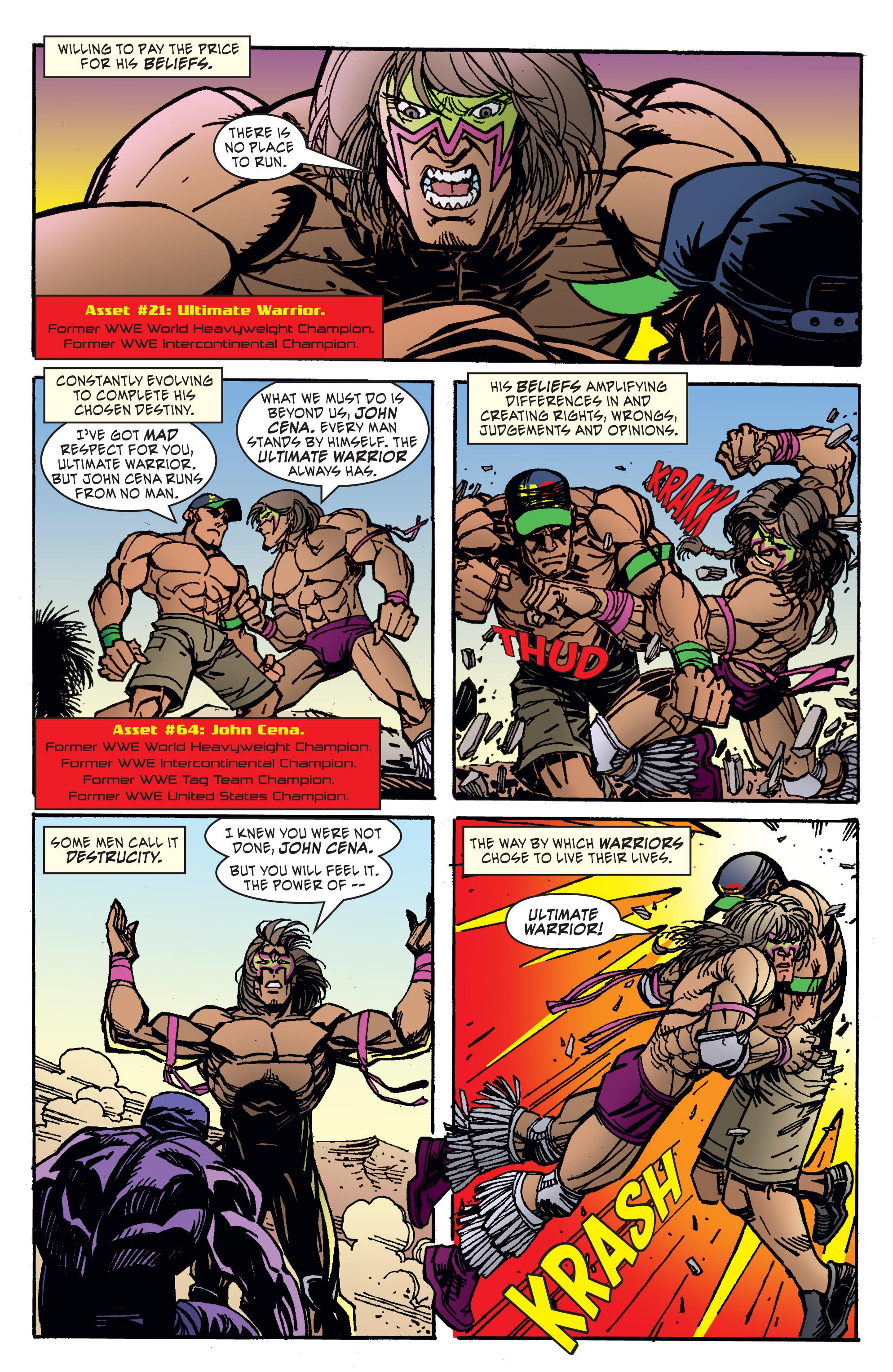 Read online WWE Superstars comic -  Issue #11 - 4