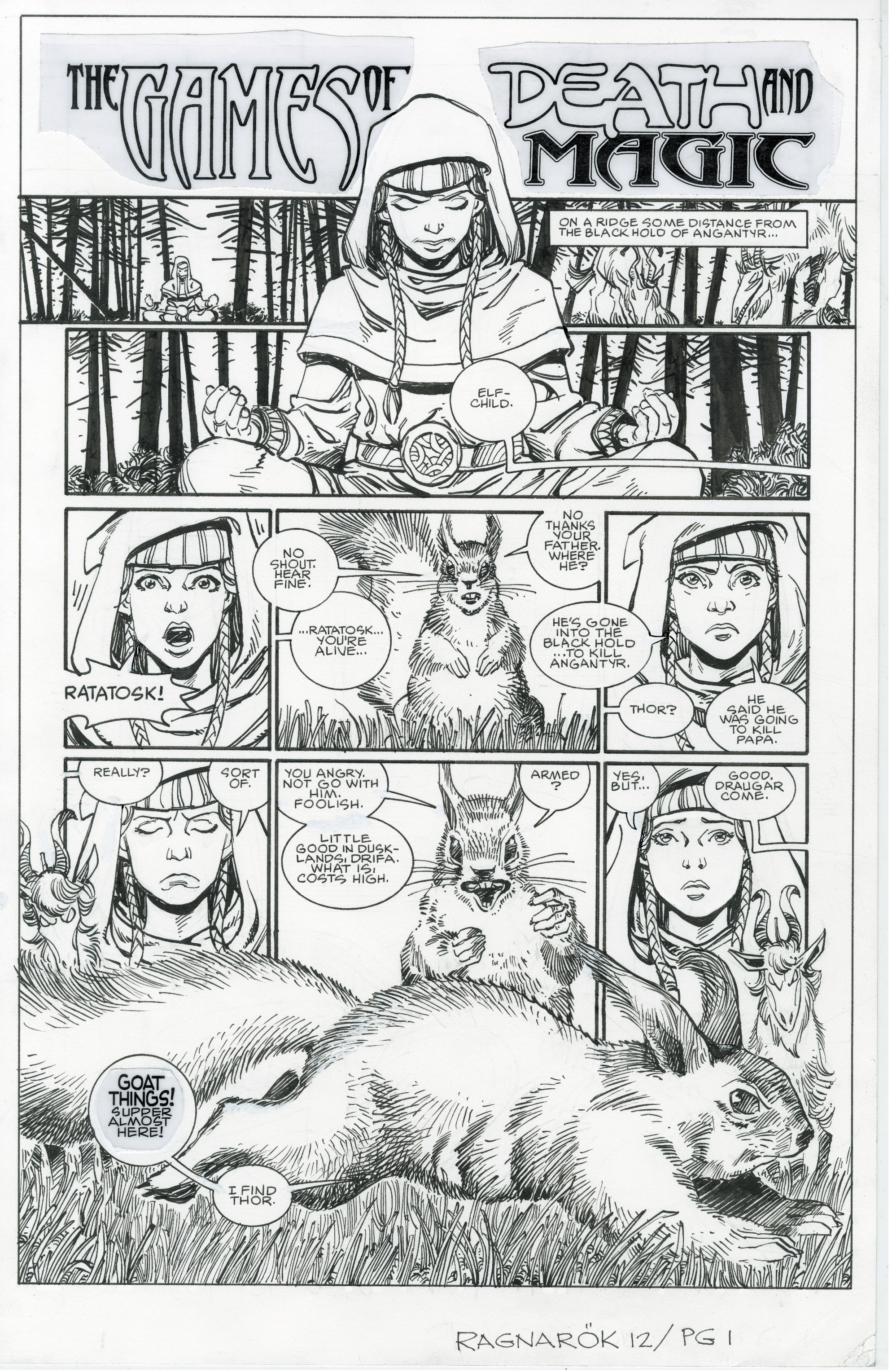 Read online Ragnarok comic -  Issue #12 - 25