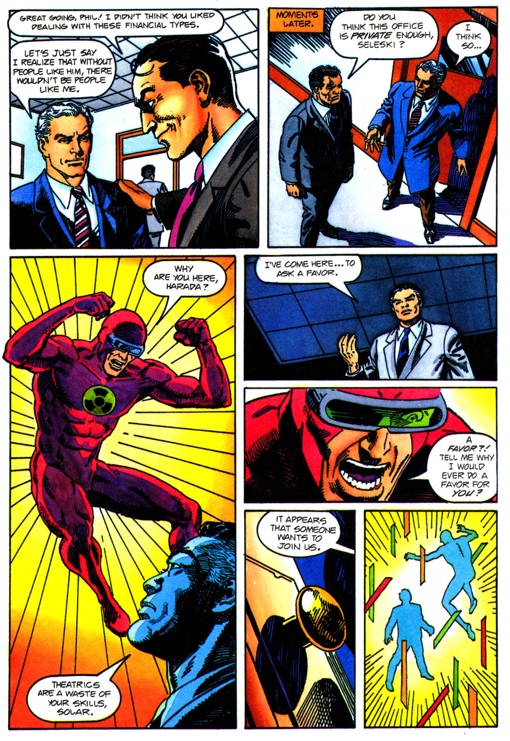Read online Solar, Man of the Atom comic -  Issue #41 - 10