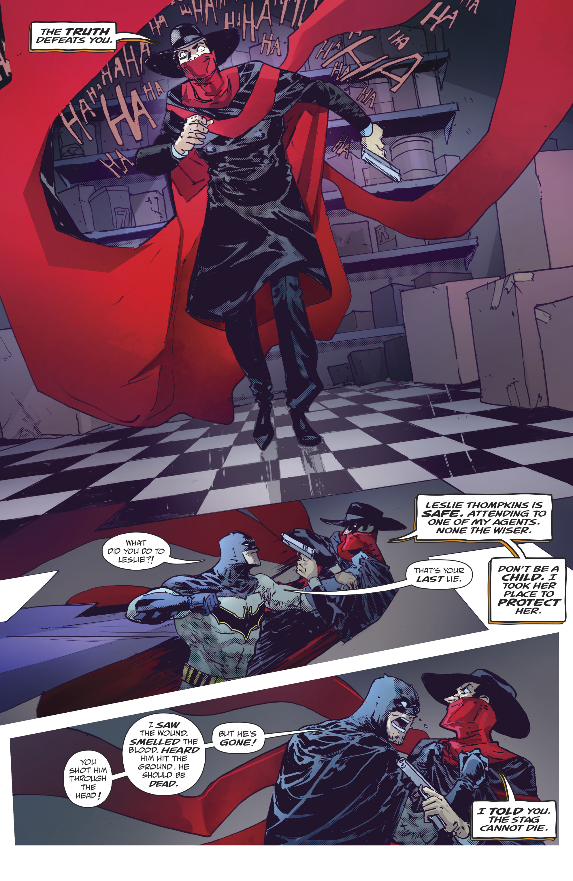 Read online Batman/Shadow comic -  Issue #2 - 23