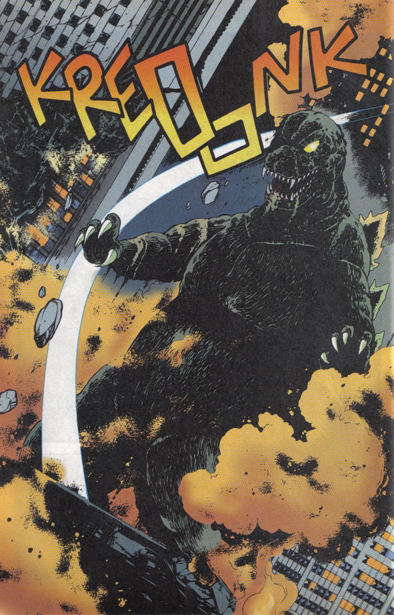 Read online Dark Horse Classics: Terror of Godzilla comic -  Issue #5 - 11