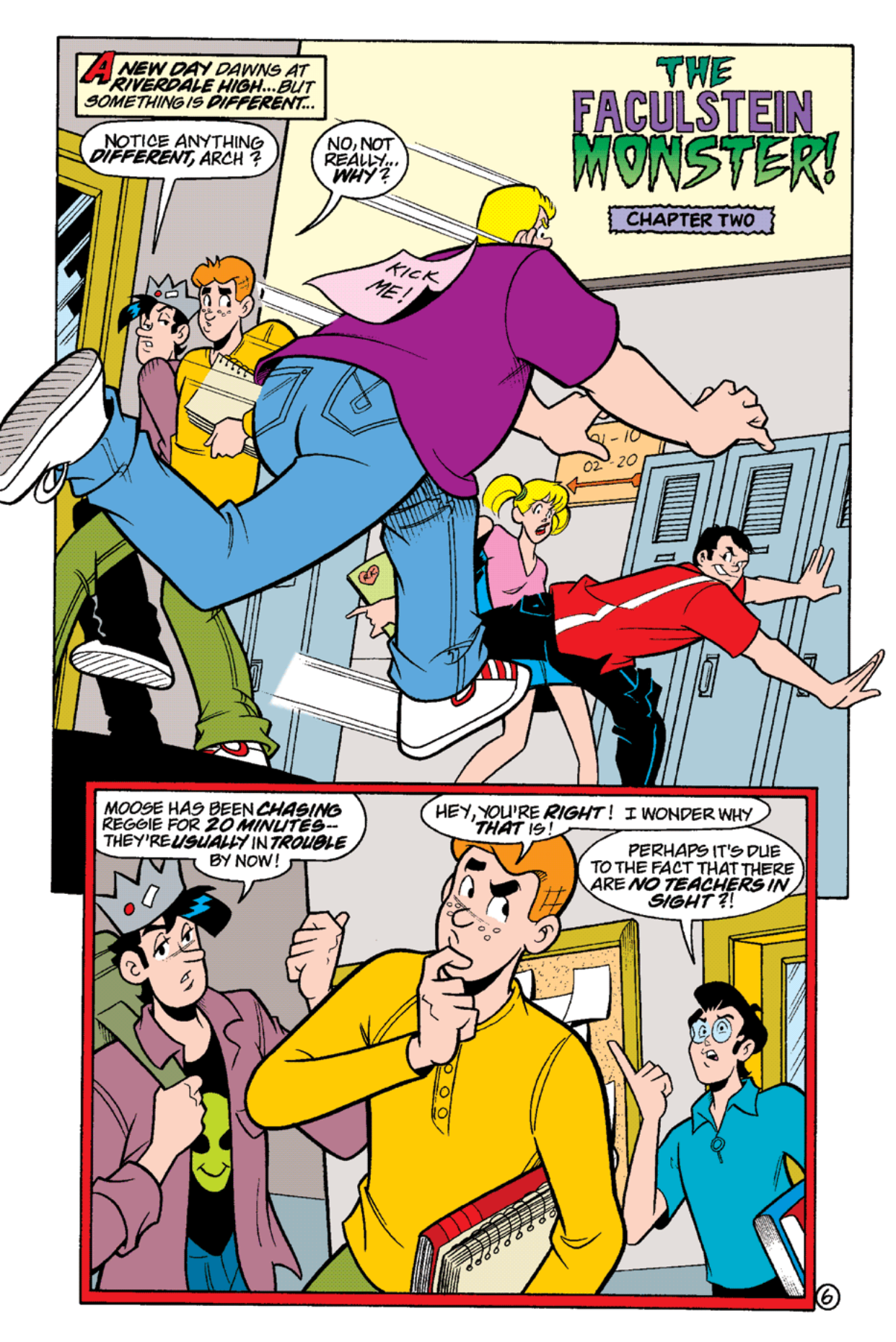 Read online Archie's Weird Mysteries comic -  Issue #16 - 8