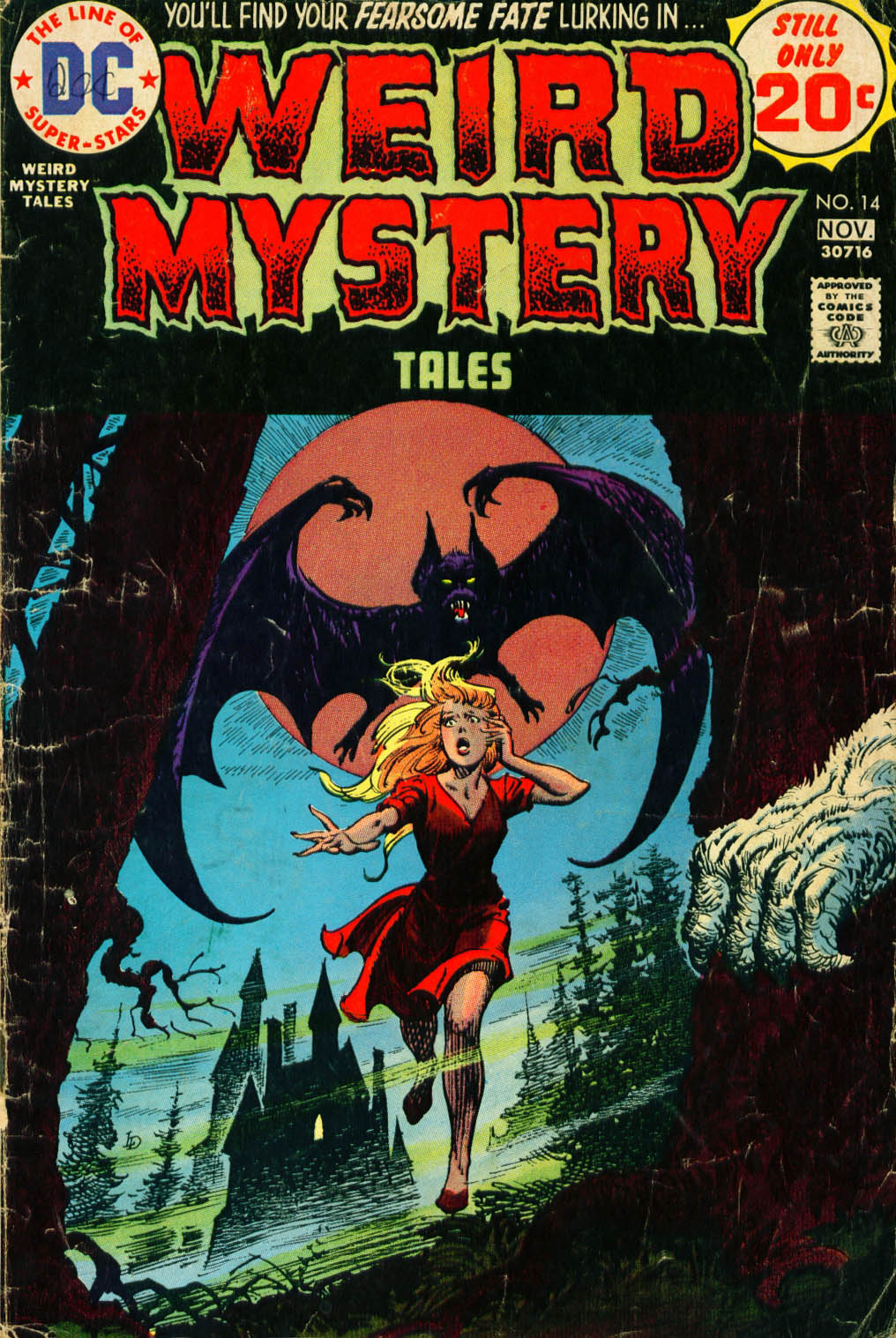 Weird Mystery Tales issue 14 - Page 1